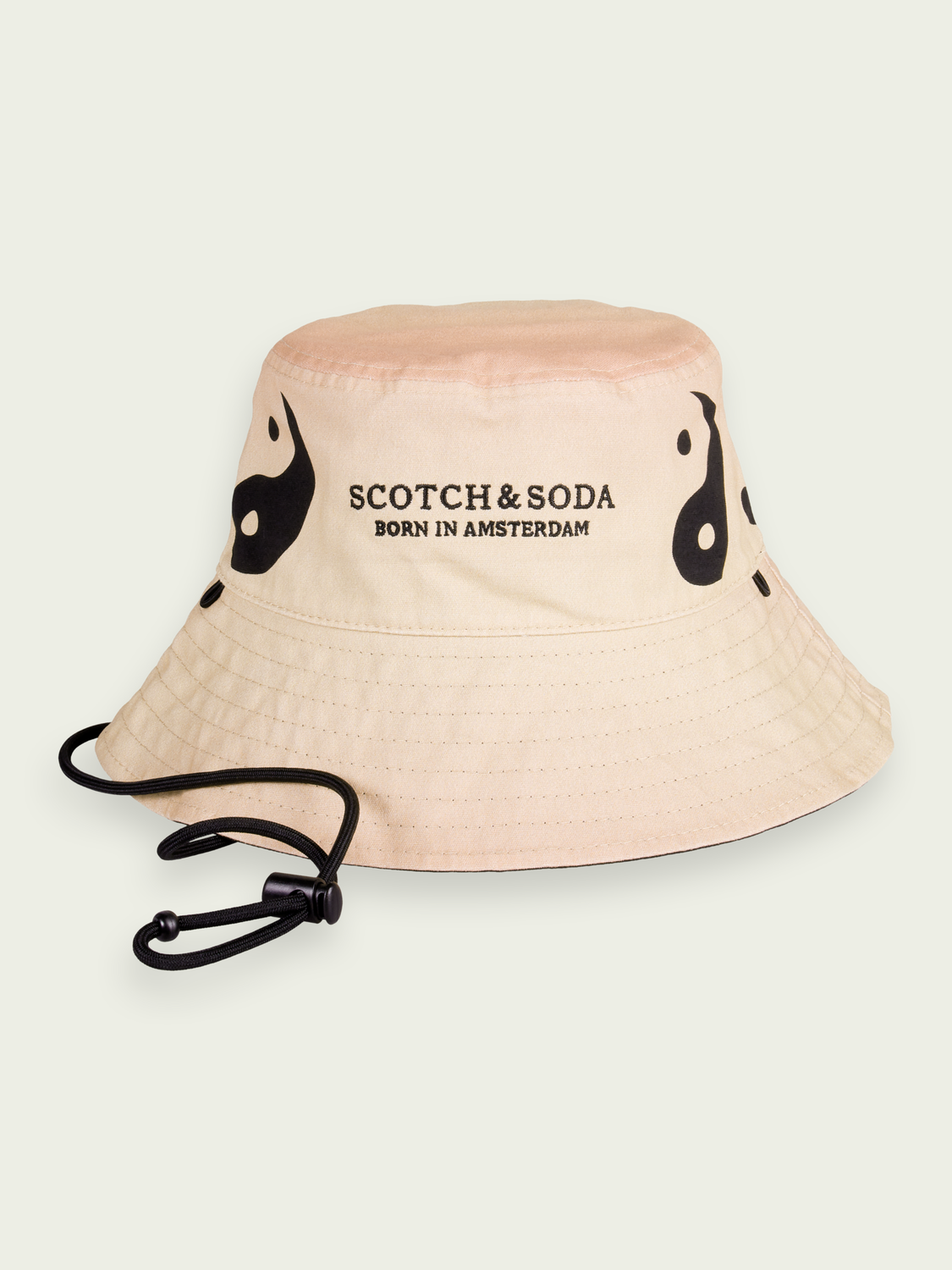 Women BORN TO LOVE unisex reversible organic cotton bucket hat