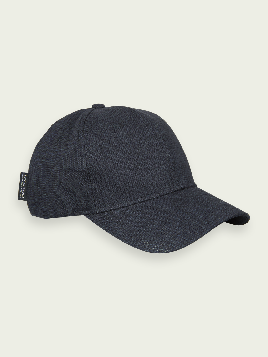 Men Cotton-blend 6-panel cap