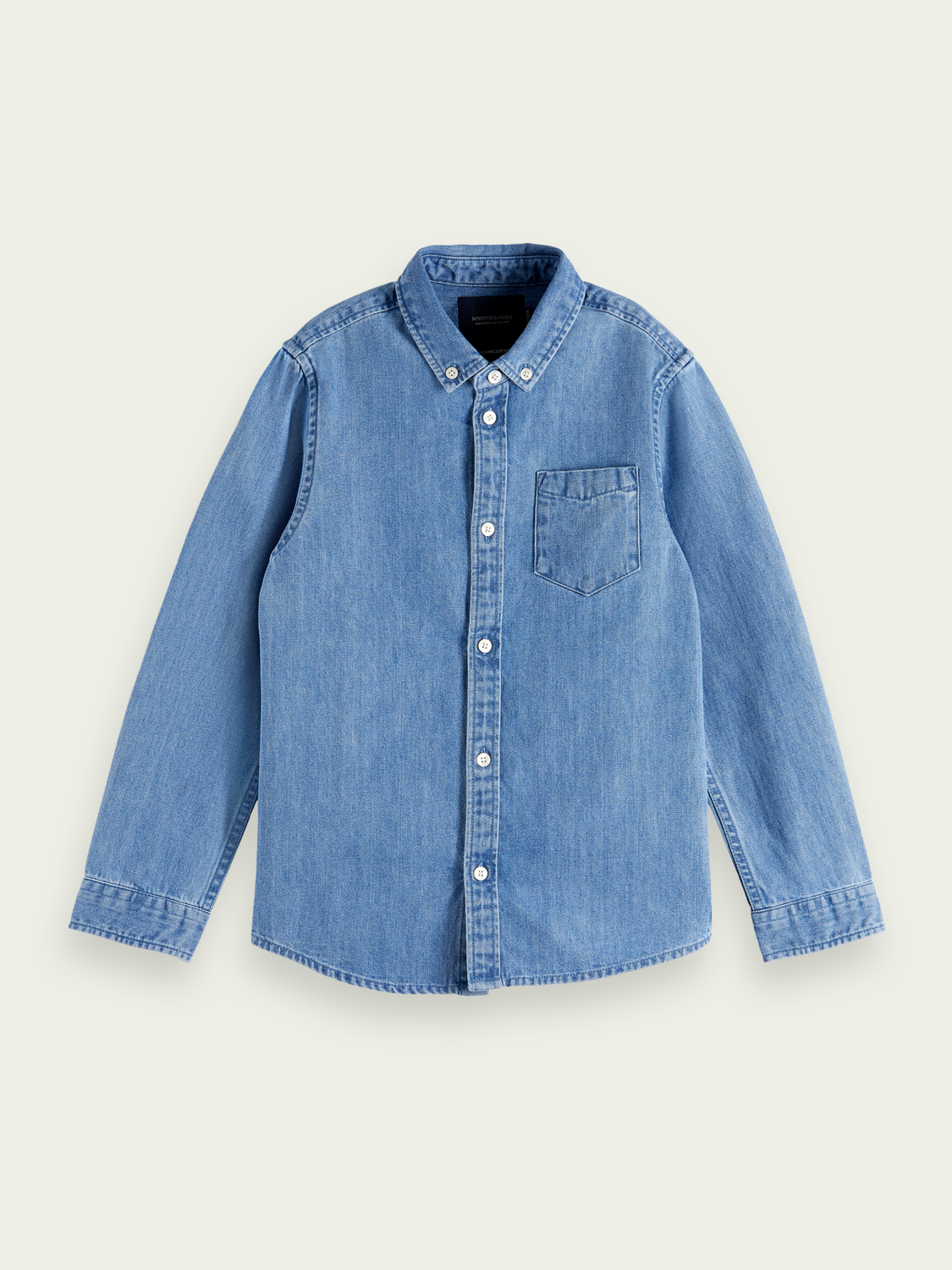 Kinder Denim Shirt aus Bio-Baumwolle