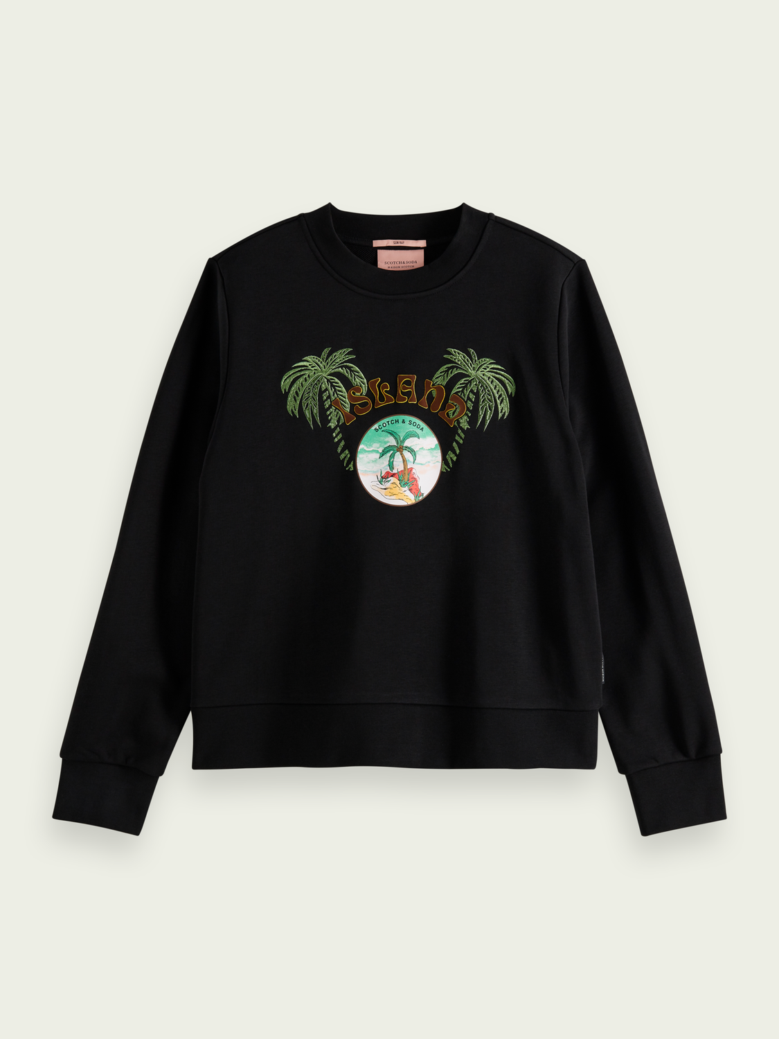 Women Crewneck graphic sweater