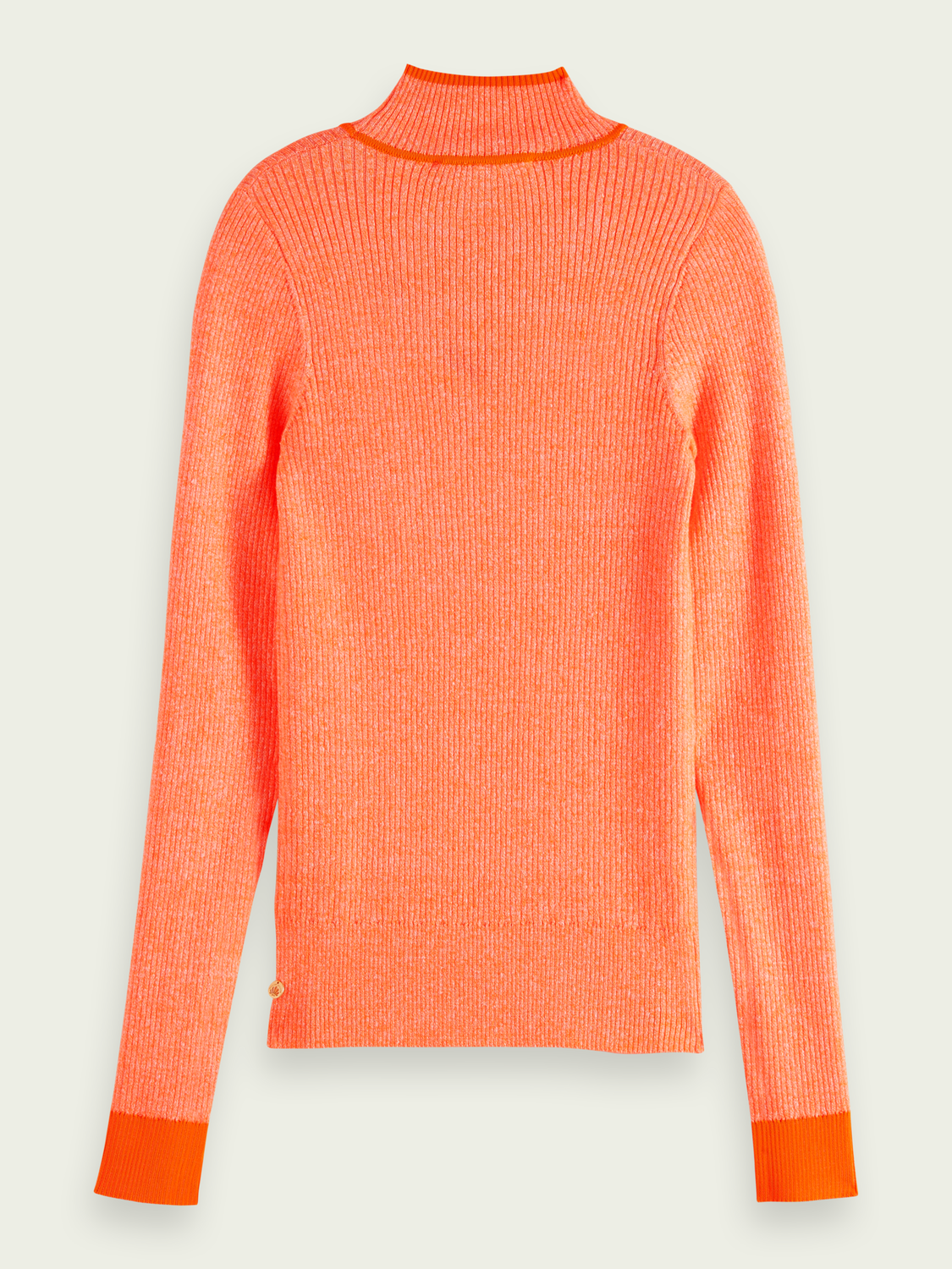 Women Ribbed linen-blend sweater