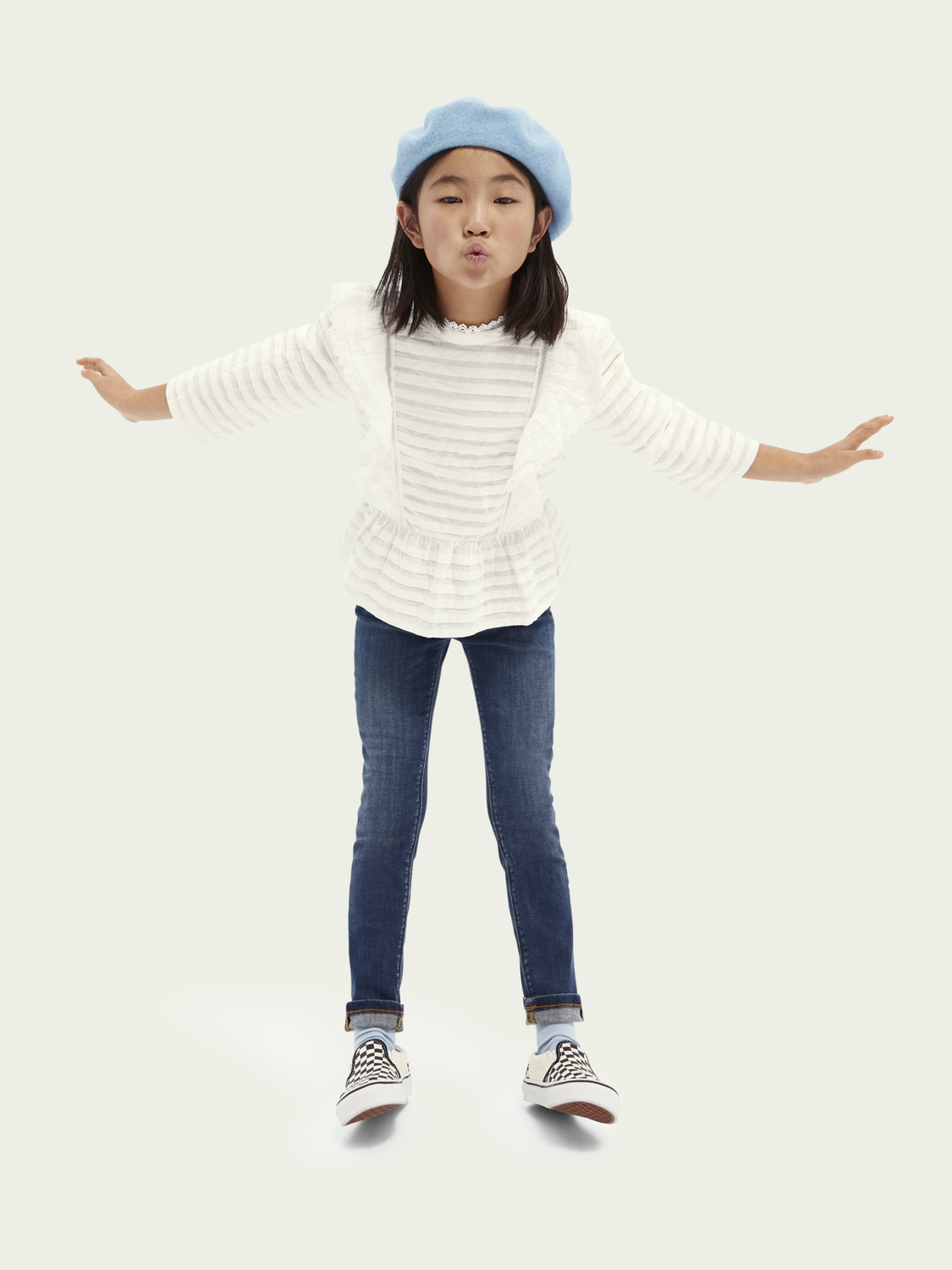 Kids La Charmante high-rise skinny-fit jeans - Get Ready