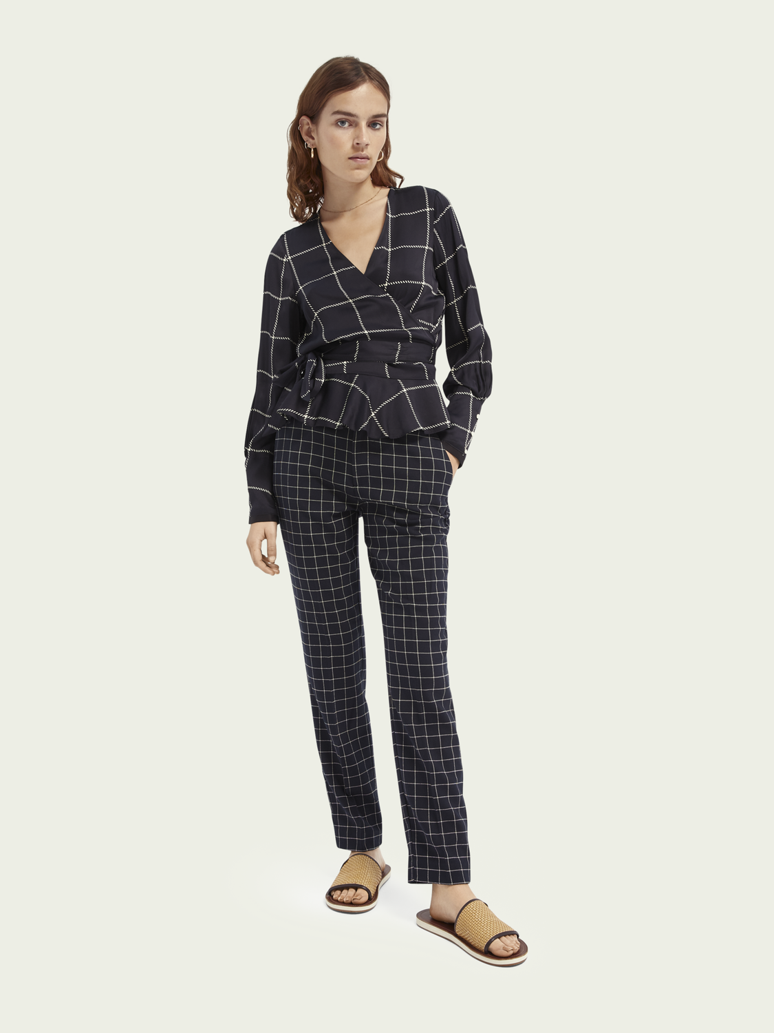 Dames Lowry tailored slim fit broek