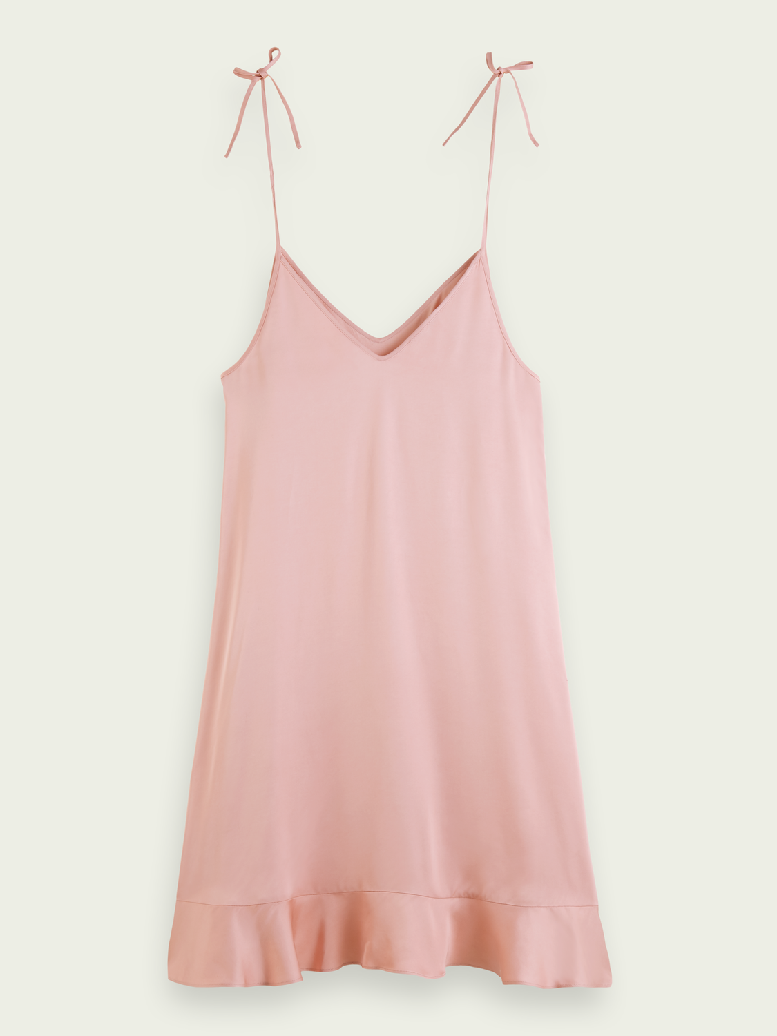 Women Peplum hem slip dress