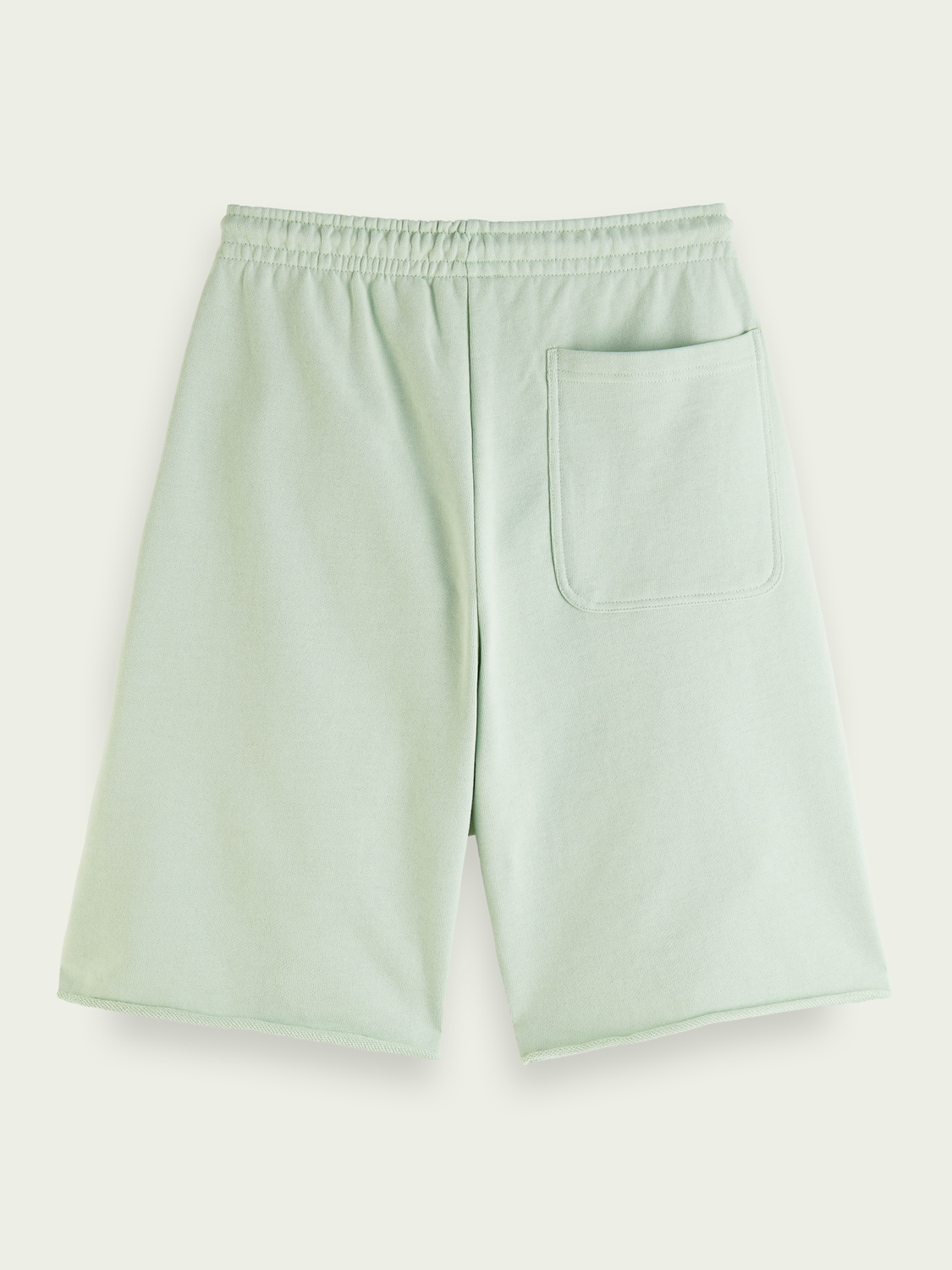 Men Classic organic cotton felpa shorts