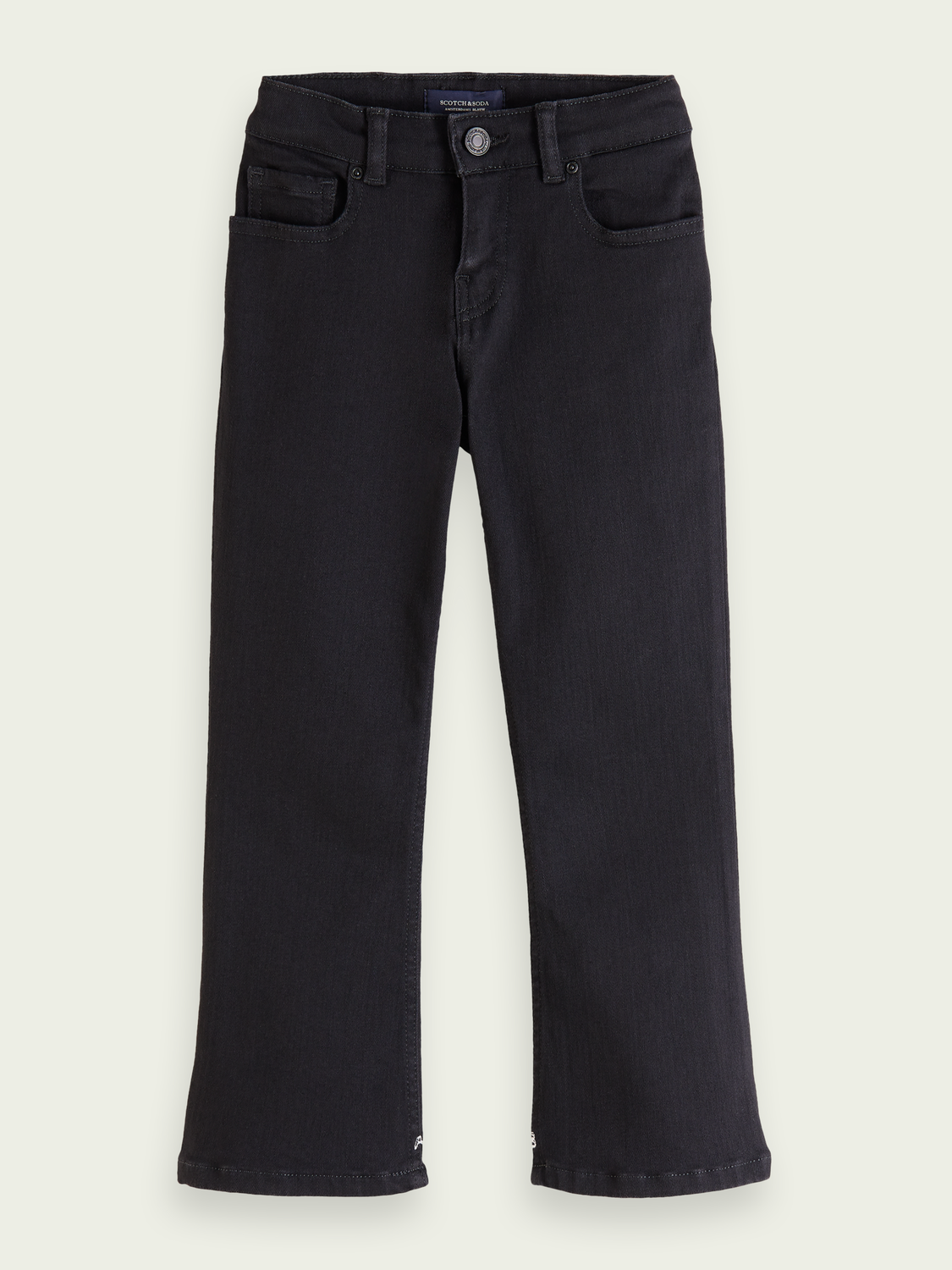 Kids The Kick flare jeans - Black Shadow
