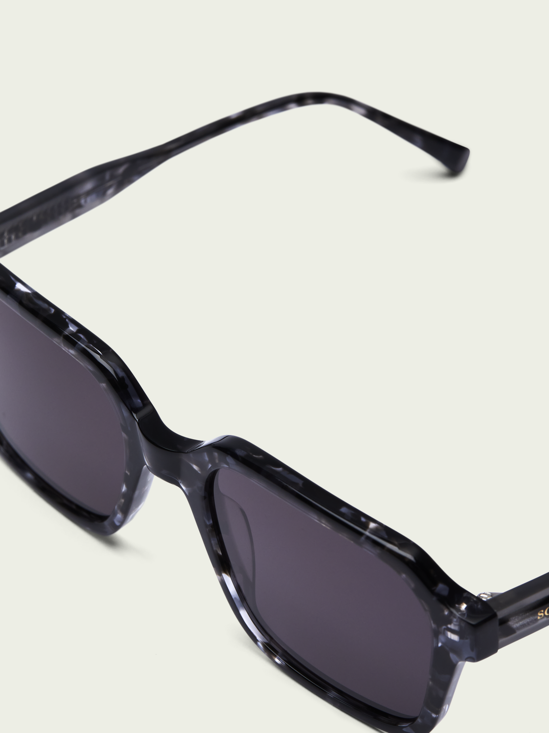 Men Rushmore - square-framed acetate sunglasses