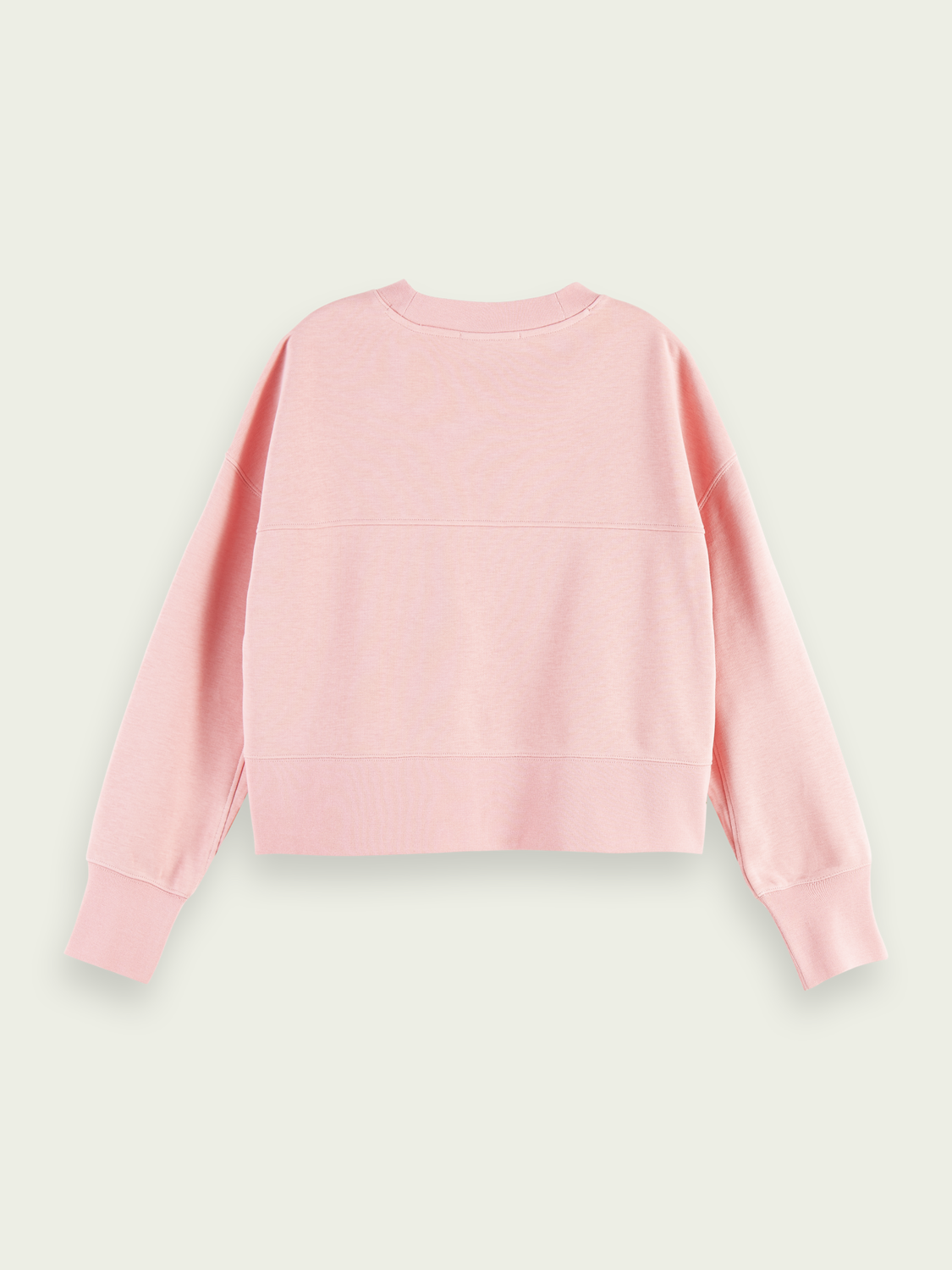 Women Cropped & embroidered cotton-blend sweater