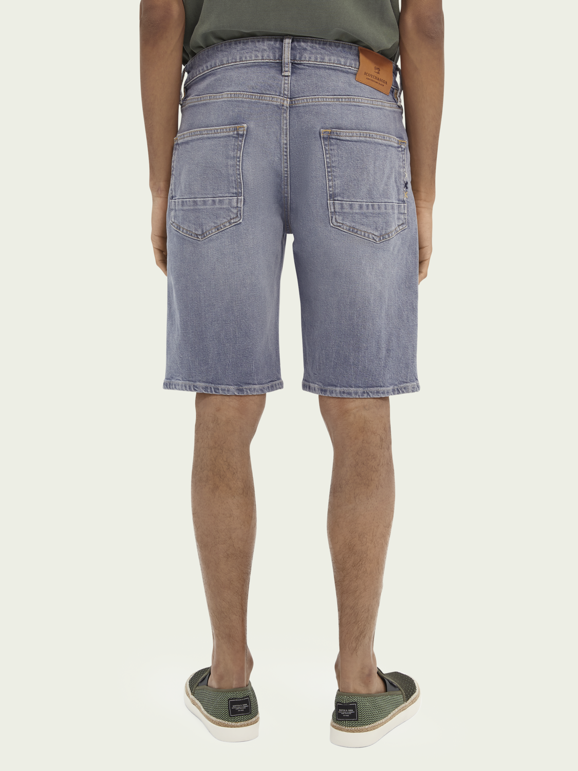 Men Ralston recycled cotton short - Pop Of Smoke