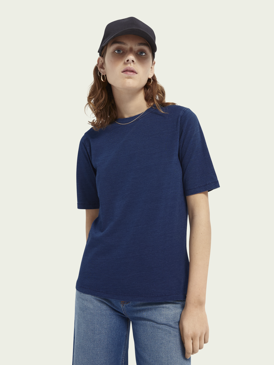 Women Short-sleeved cotton T-shirt