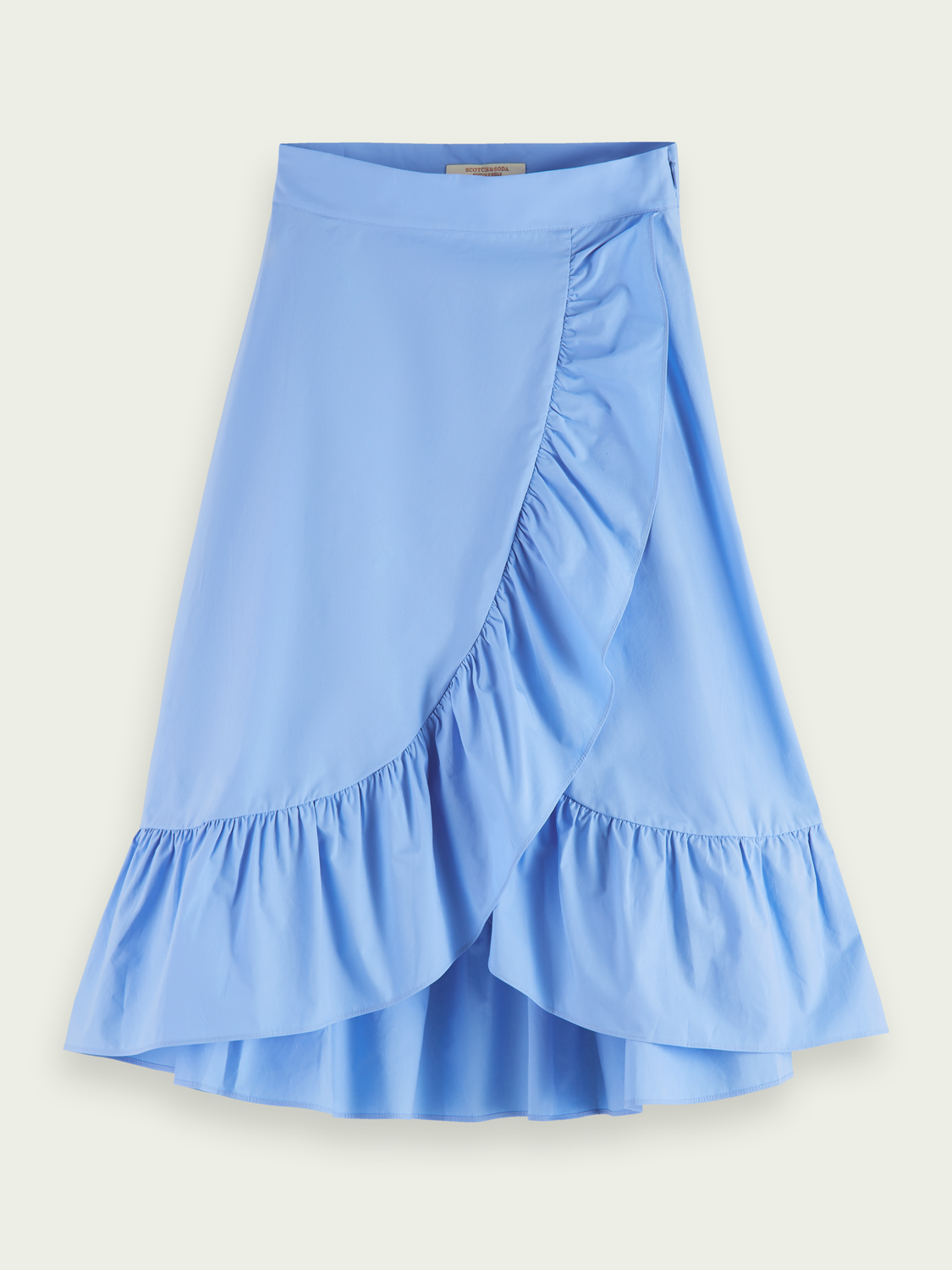 Kids Organic cotton wrap over maxi skirt