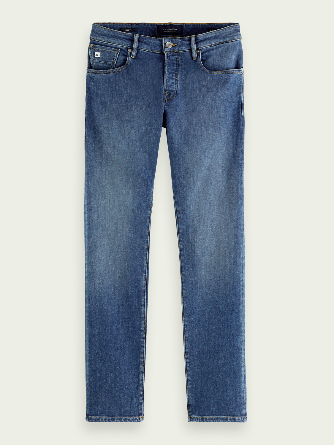 Men Ralston regular slim-fit jeans with recycled cotton - Nouveau Blue