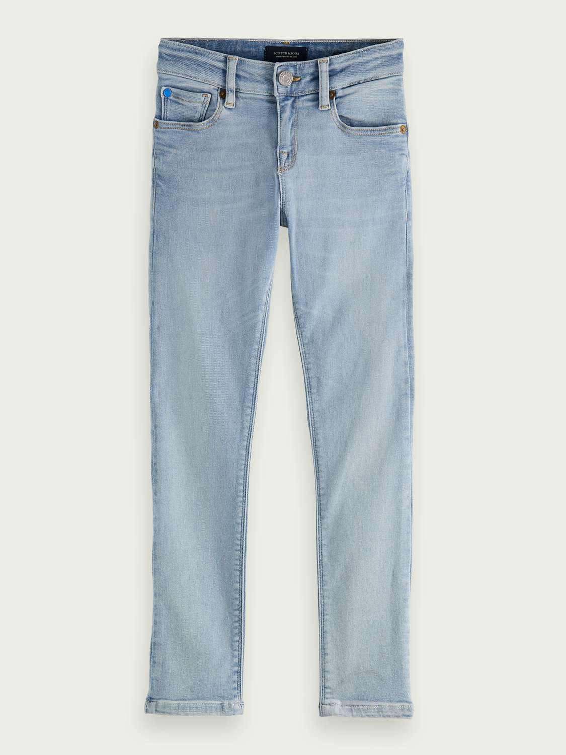 Barn Tigger jeans med mid-rise super skinny fit - Ice Layer
