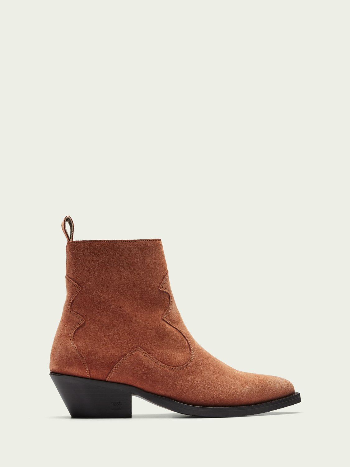 Women Corall suede ankle boots