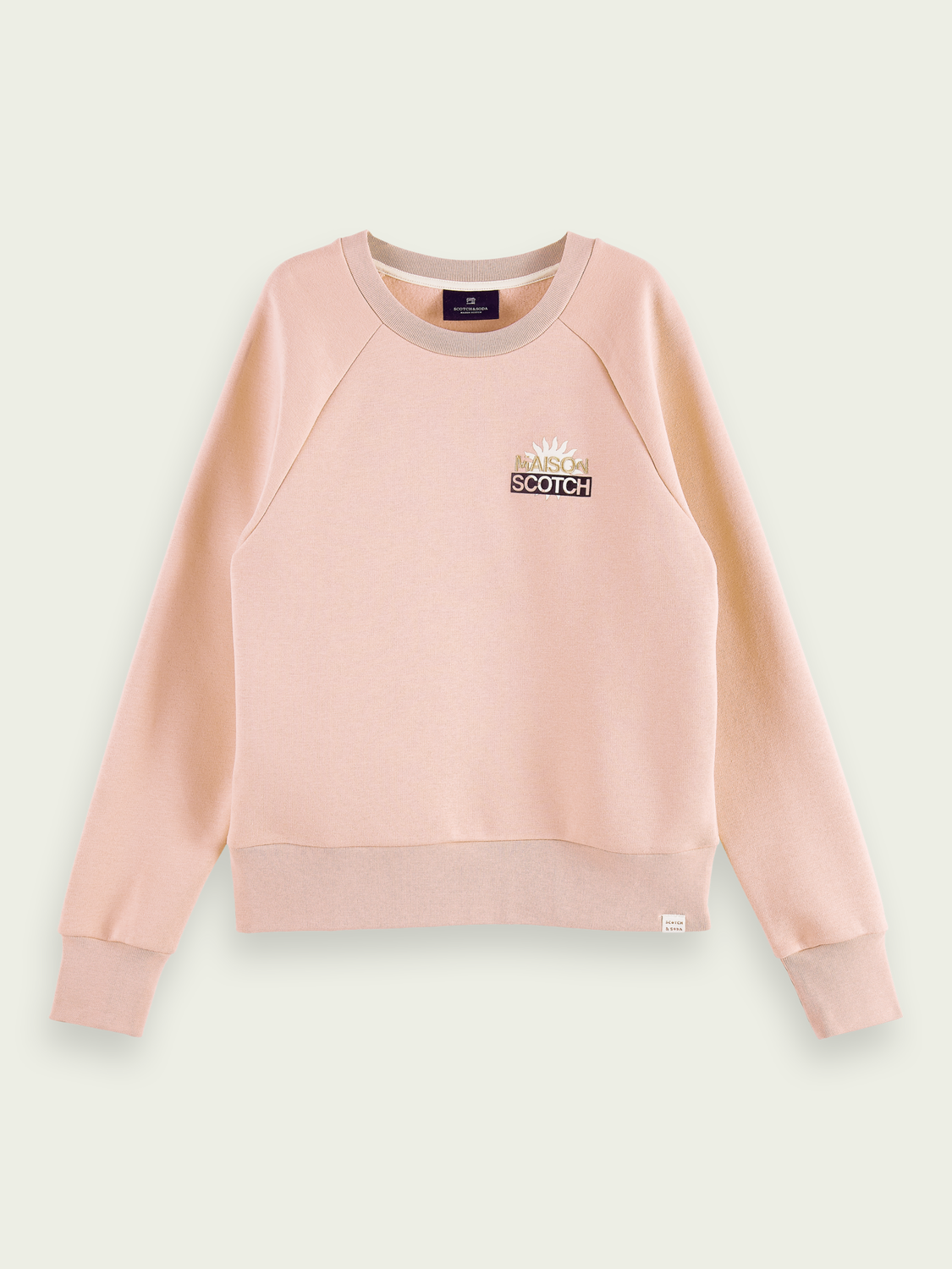 Women Logo artwork cotton-blend sweater
