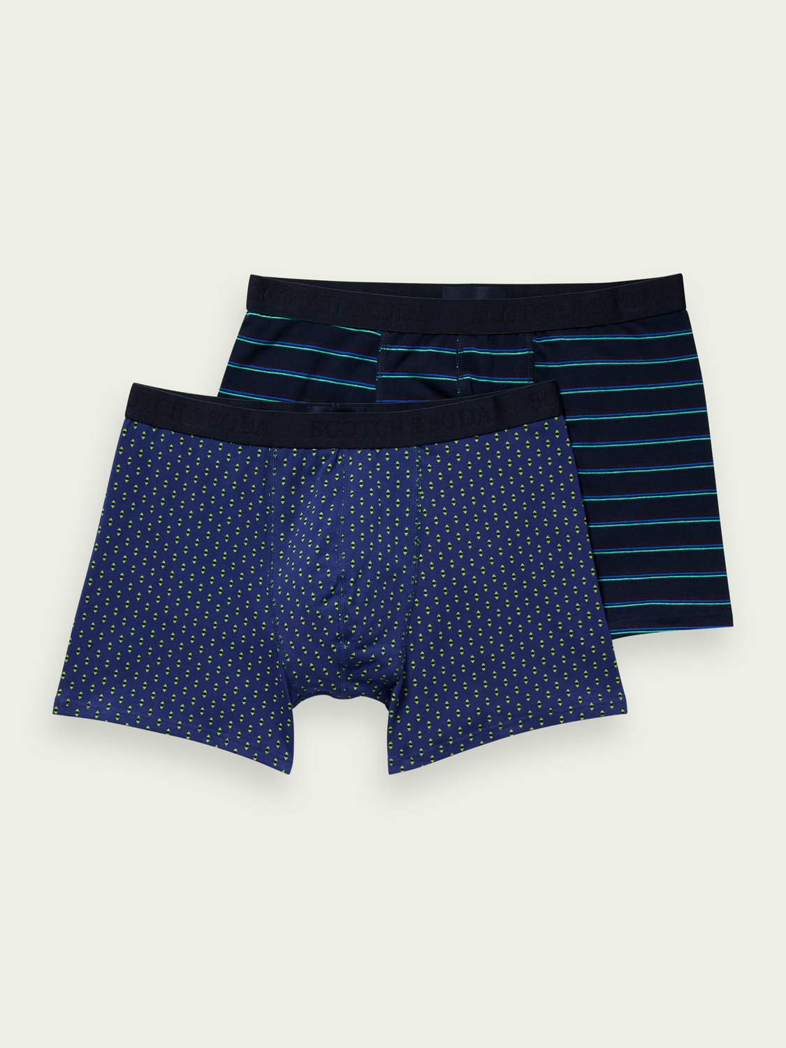 Men Stretch cotton boxer shorts
