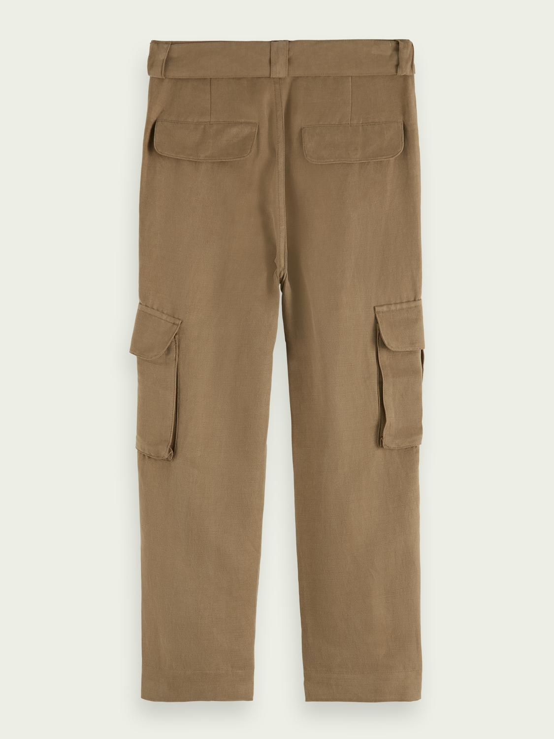 Kids Wide-leg high-rise cargo trousers