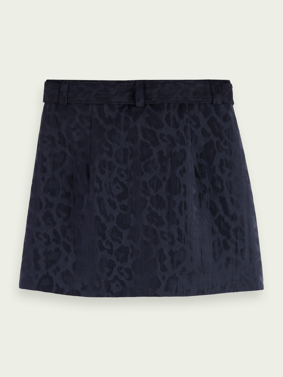 Women Animal print jacquard wrap skirt