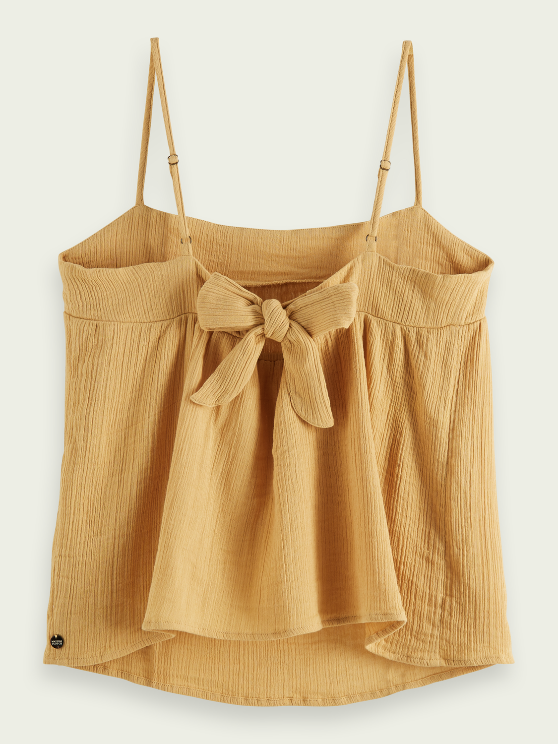 Women Crepe organic cotton tank top