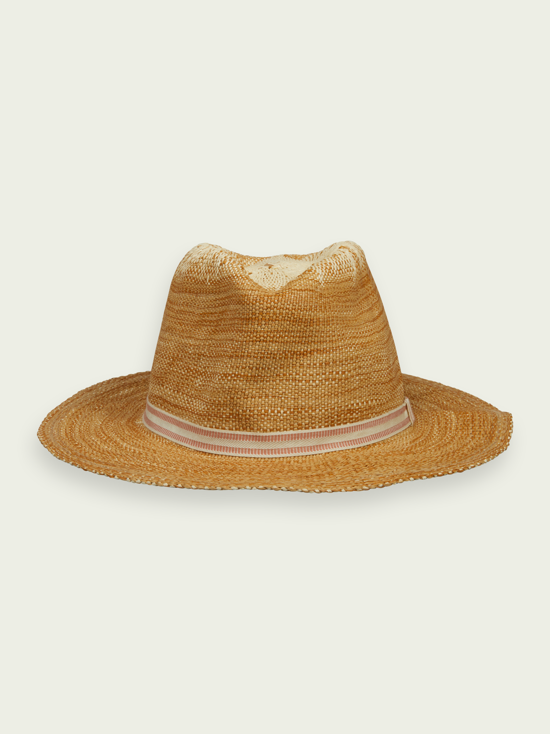 Men Classic straw hat - Sand Melange