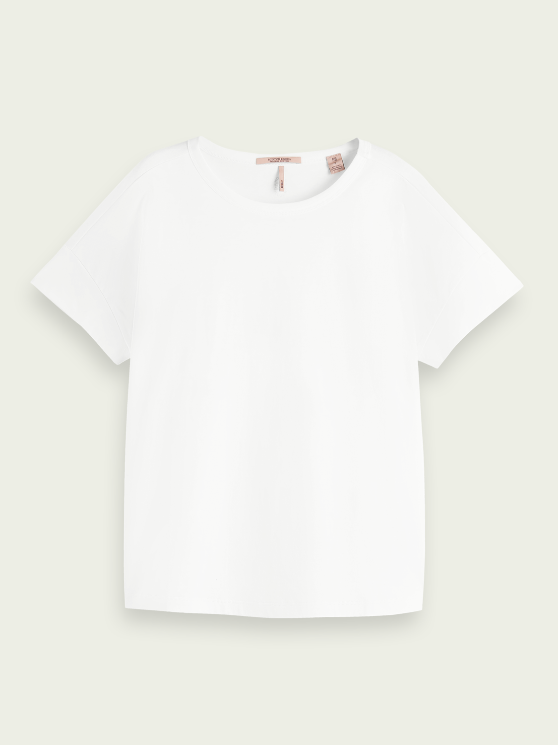 Women Basic mercerised T-shirt