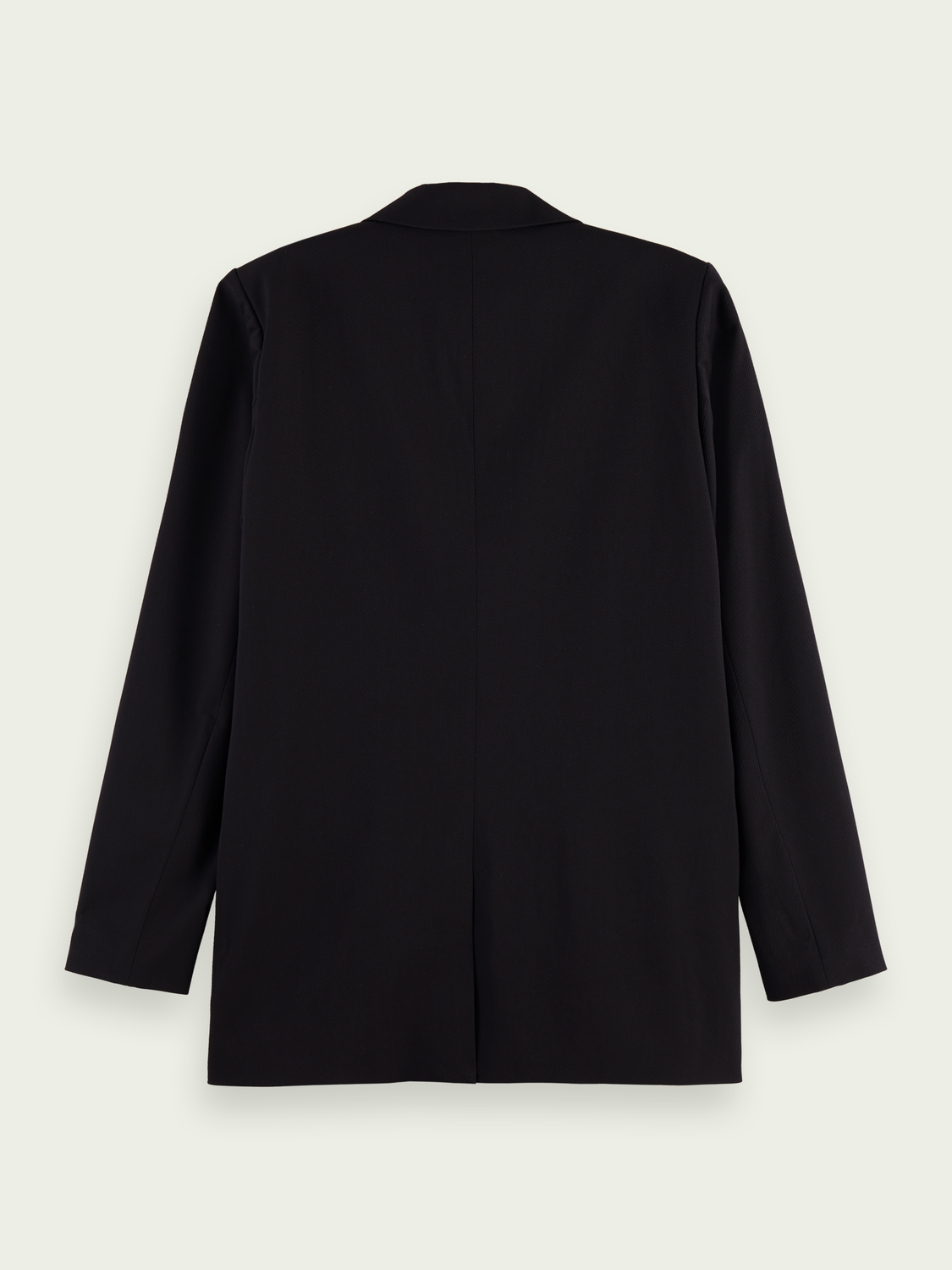 Women Longline double-breasted blazer