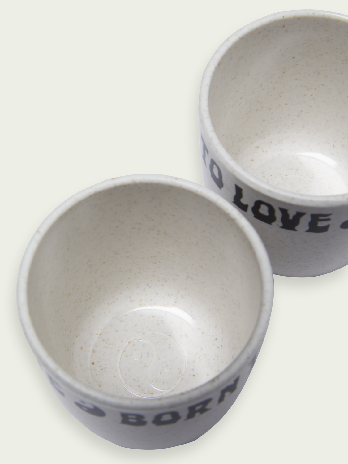 Women BORN TO LOVE espresso cup set