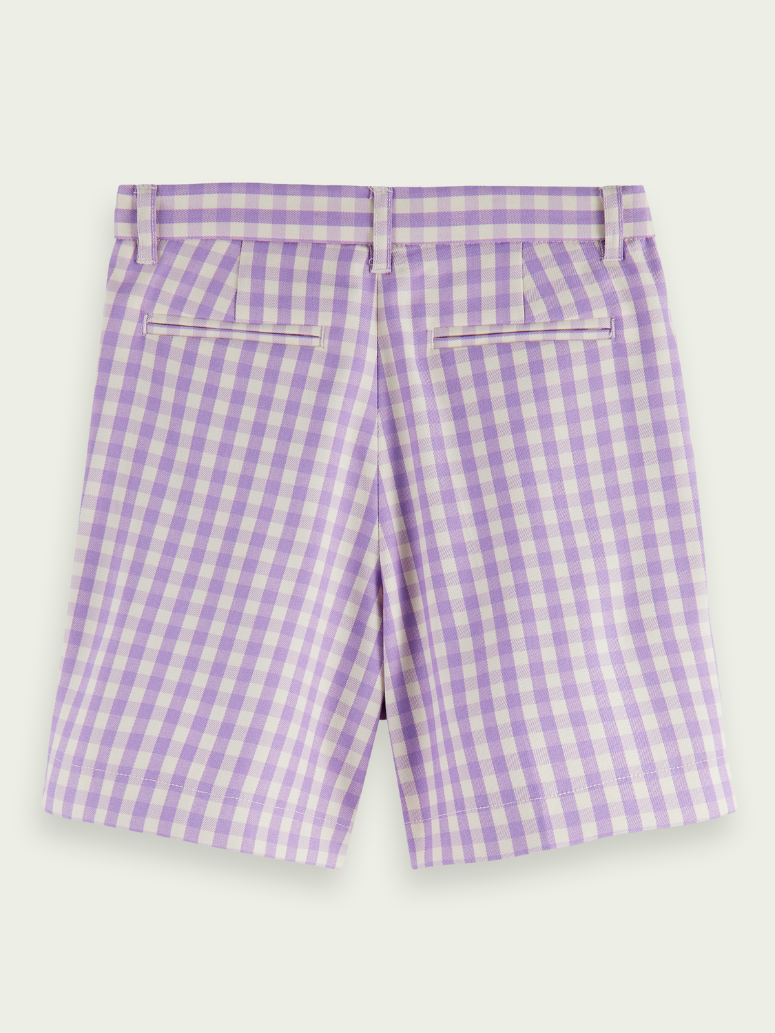 Kids Longer length check shorts