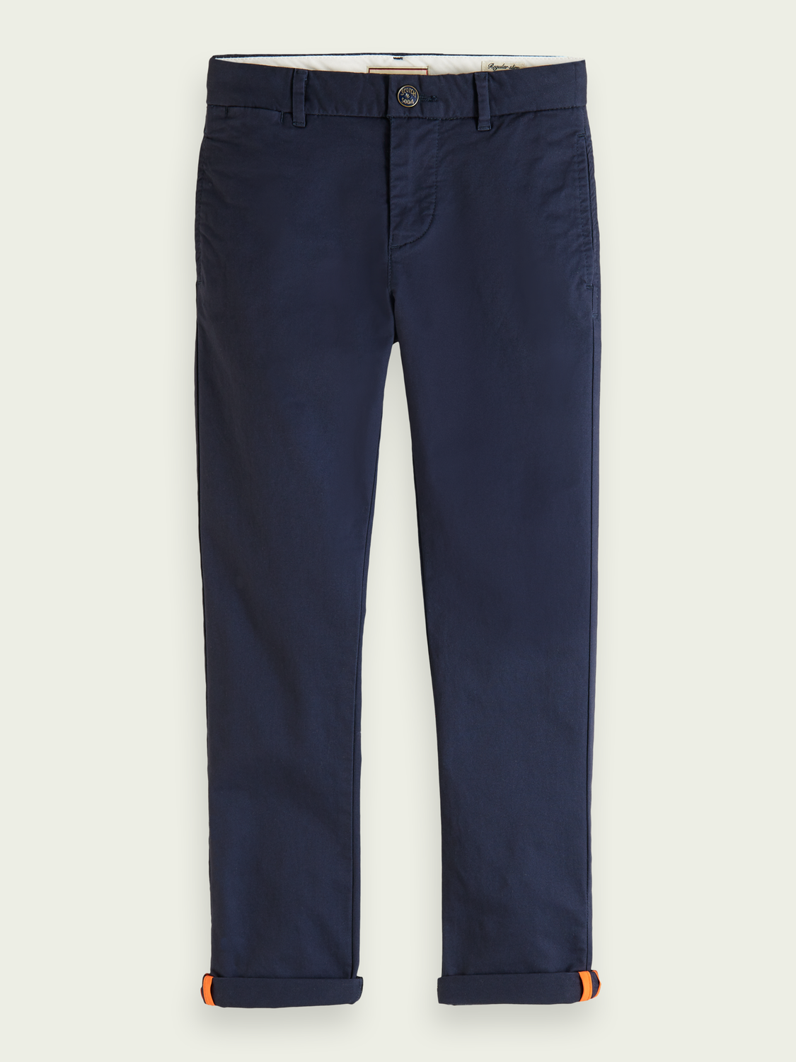 Kinder Regular Slim Fit Chino aus Bio-Baumwolle