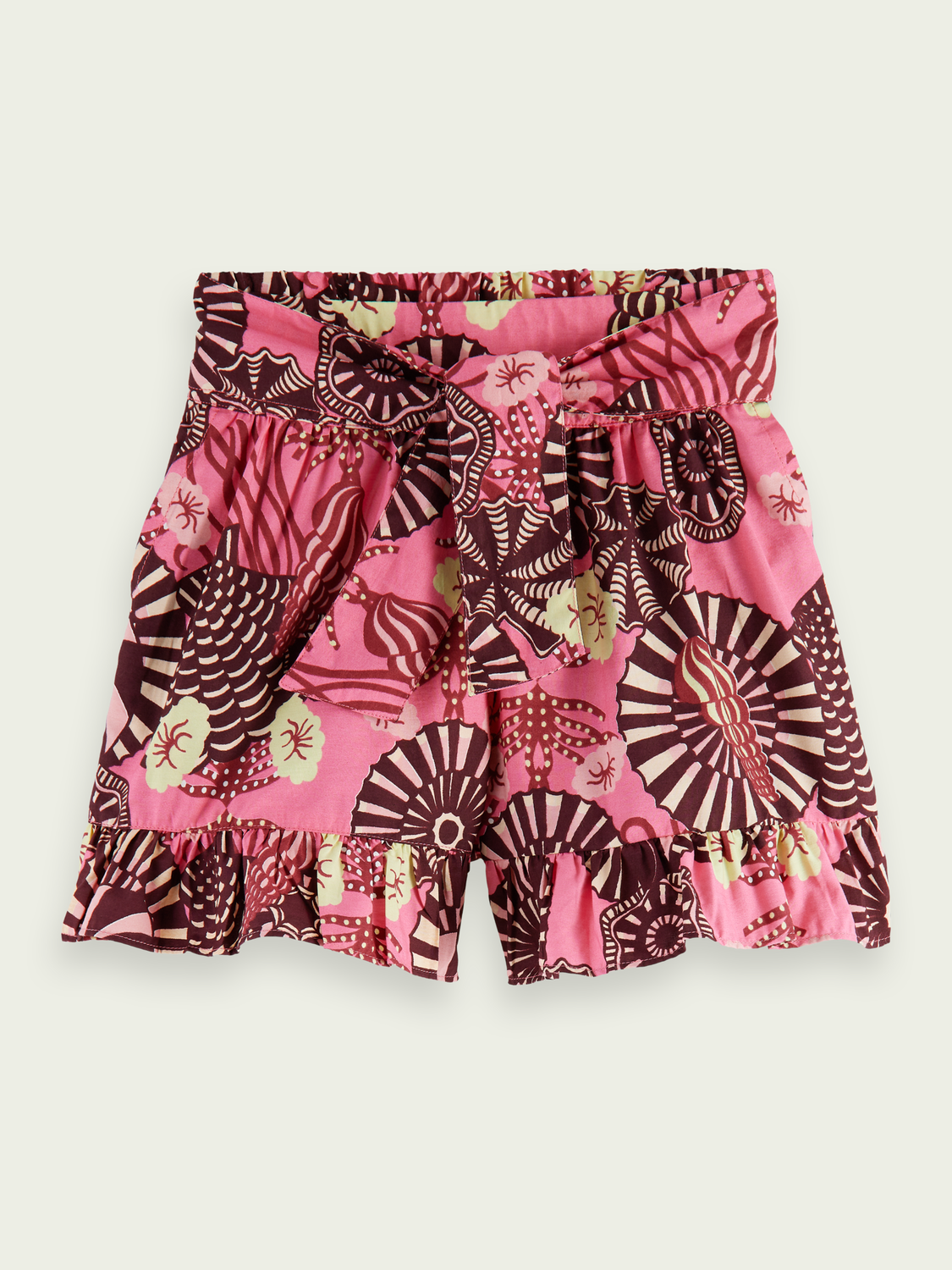 Kids Printed wide-fit organic cotton shorts
