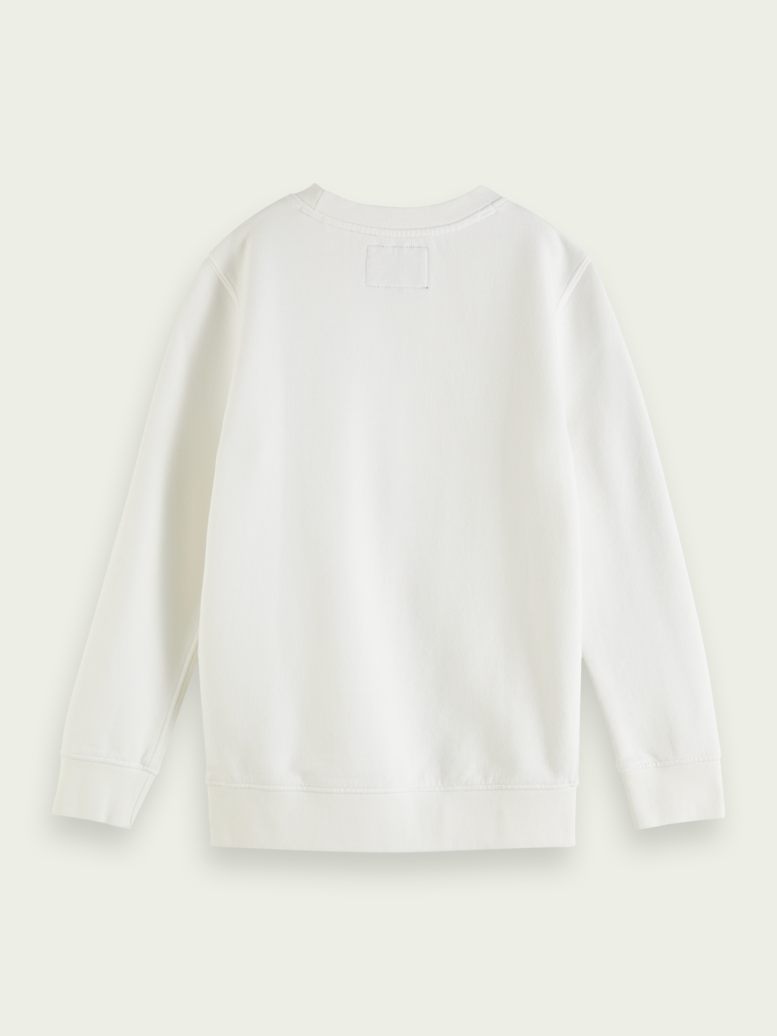 Kids Classic crewneck organic cotton sweater