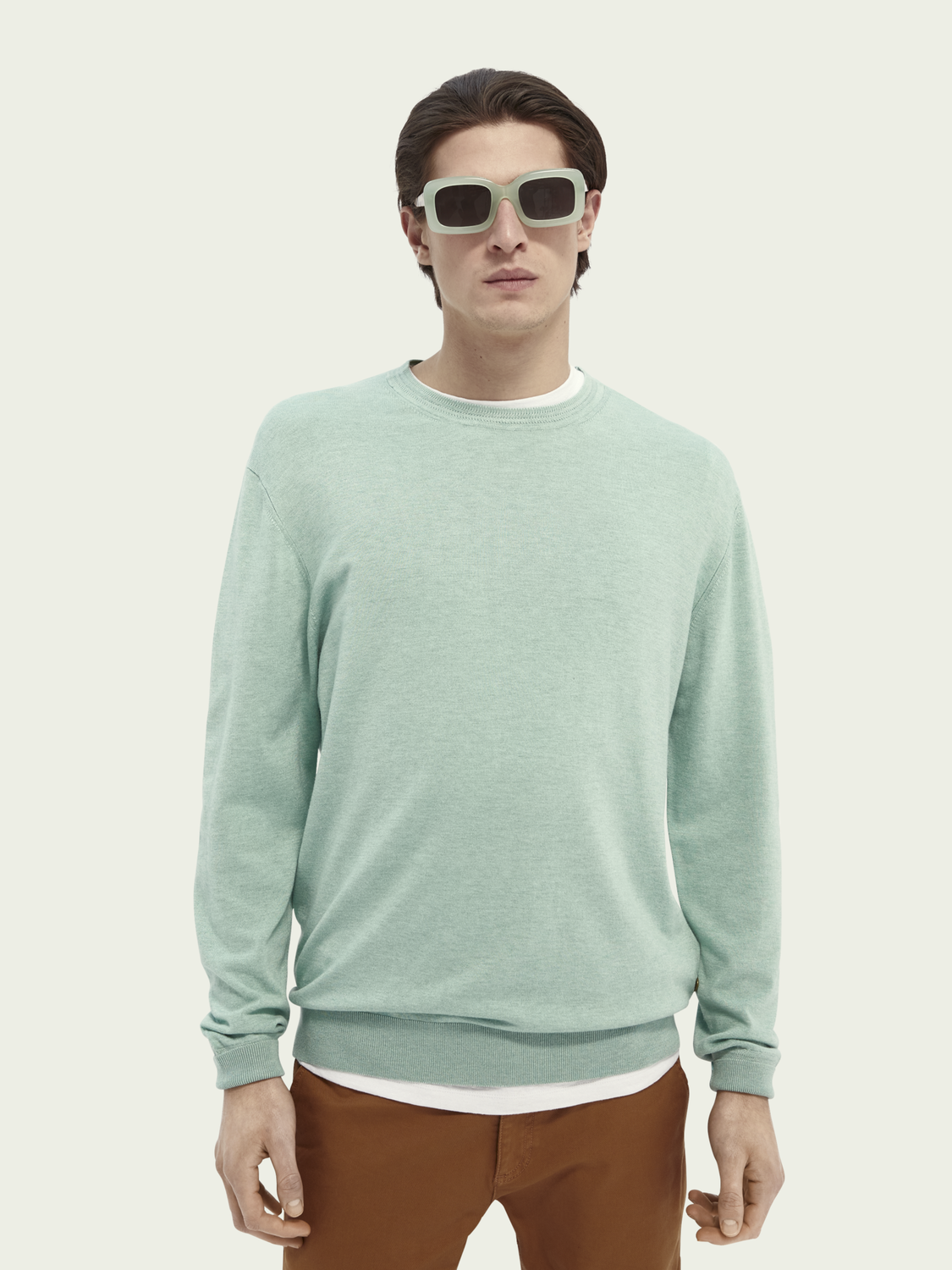 Men crewneck ECOVERO™ blend sweater