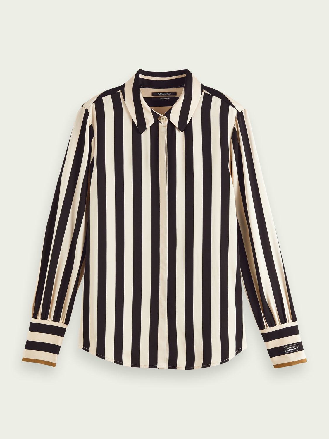 Women Striped long-sleeved shirt