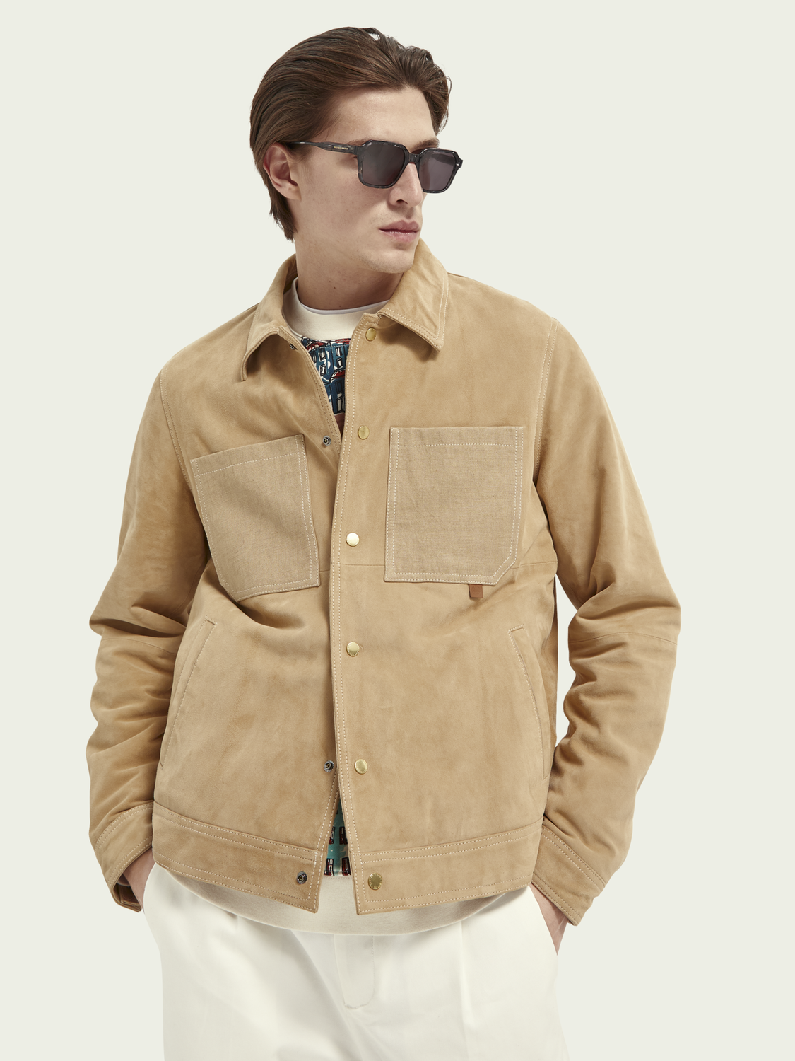 What's new Suede shirt jacket