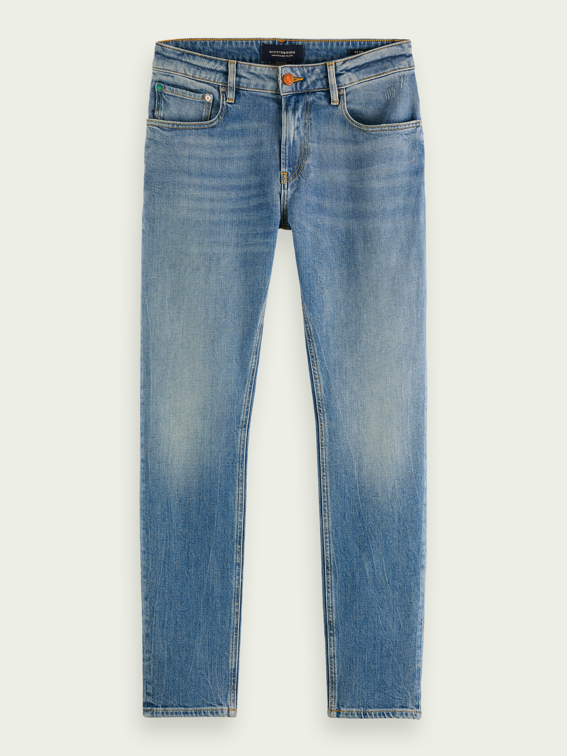 Heren Skim super slim fit jeans - Born Again