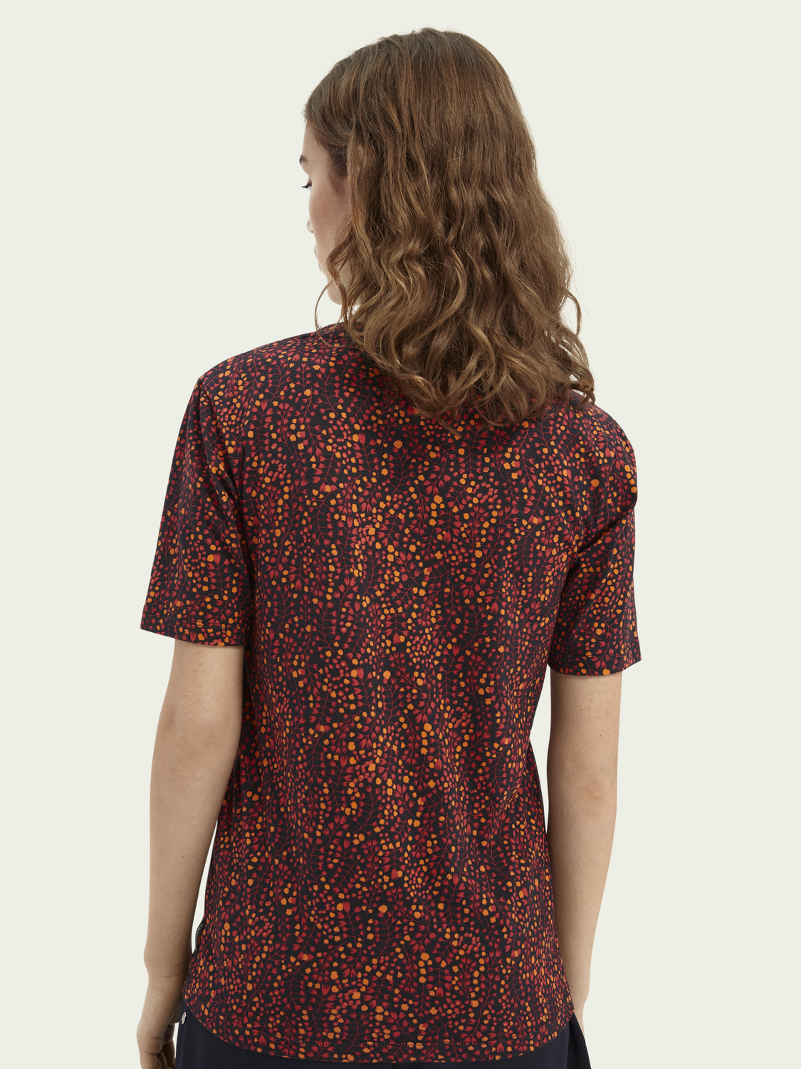 Women Printed short-sleeved T-shirt