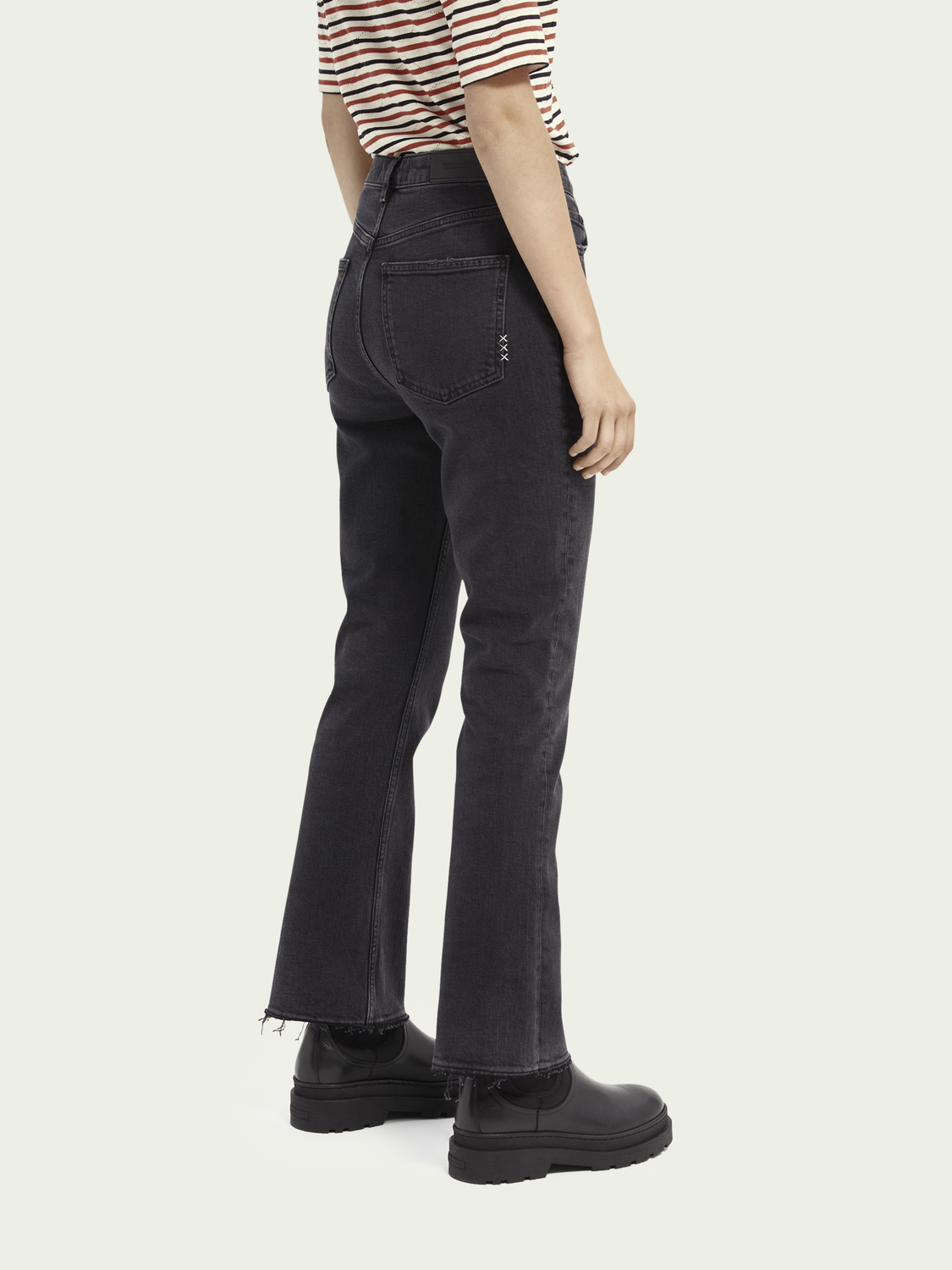 Women The Kick high-rise flared jeans ─ Ghost