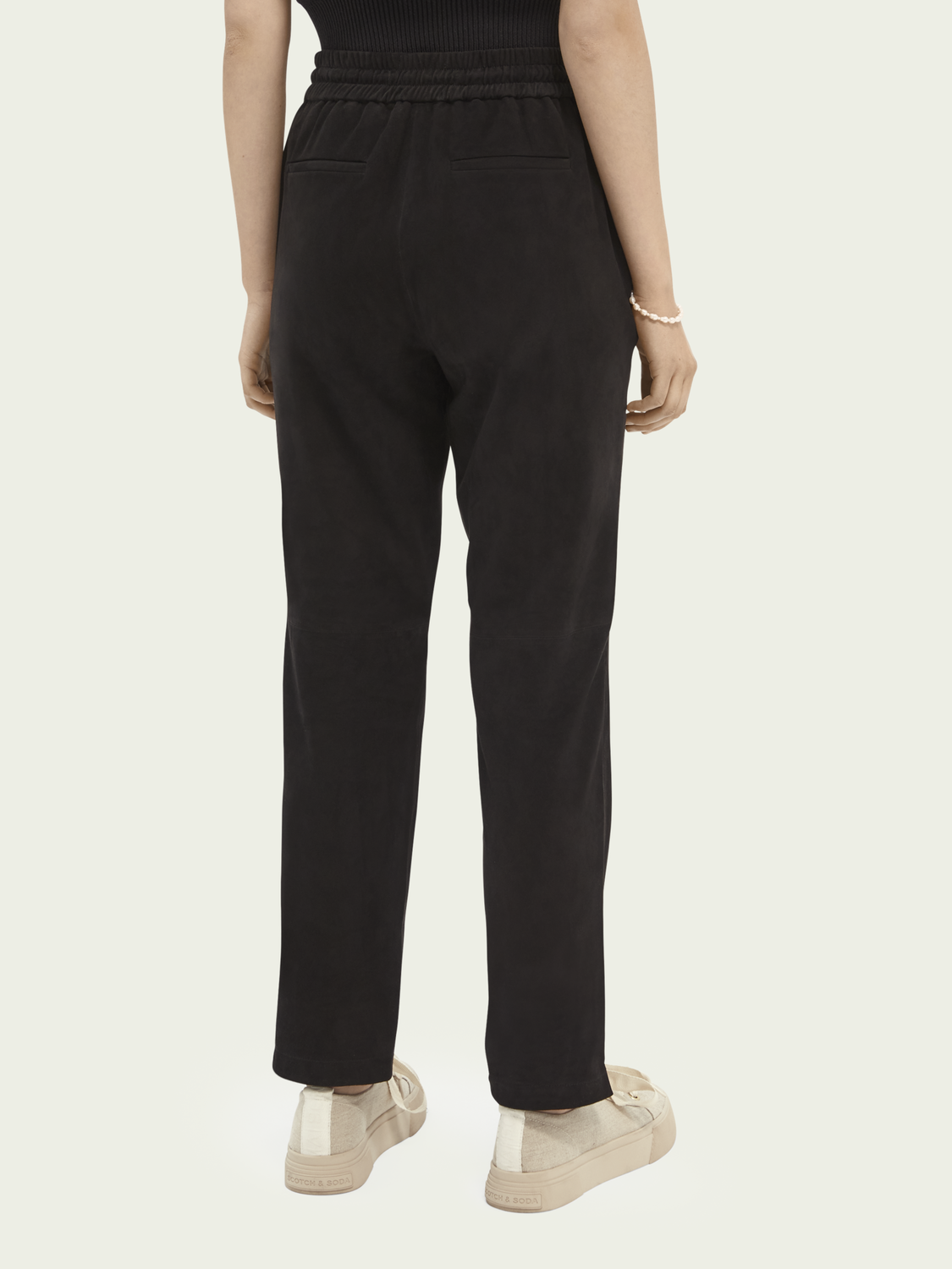 What's new Soft suede trousers