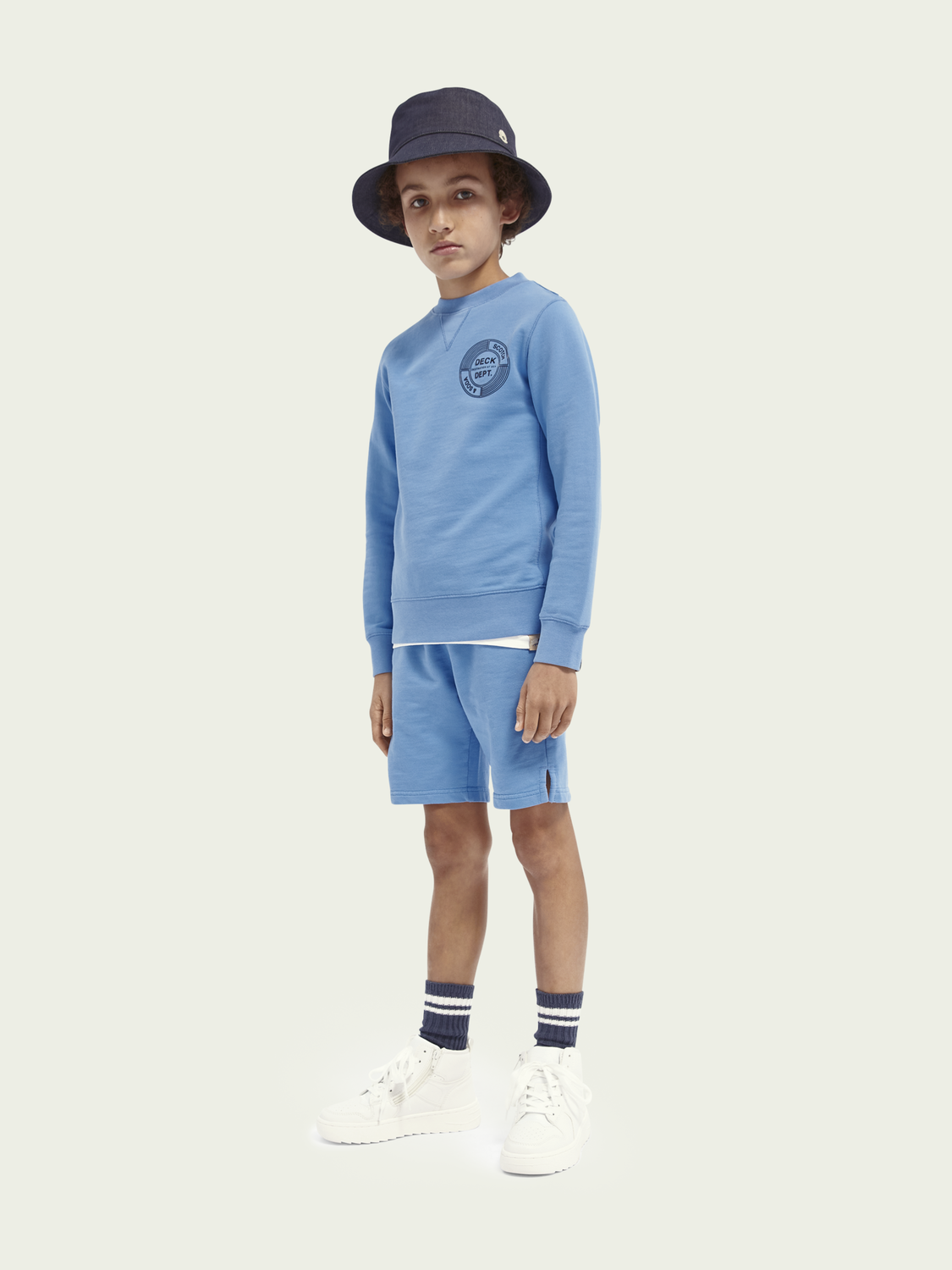 Kids Organic cotton sweat shorts