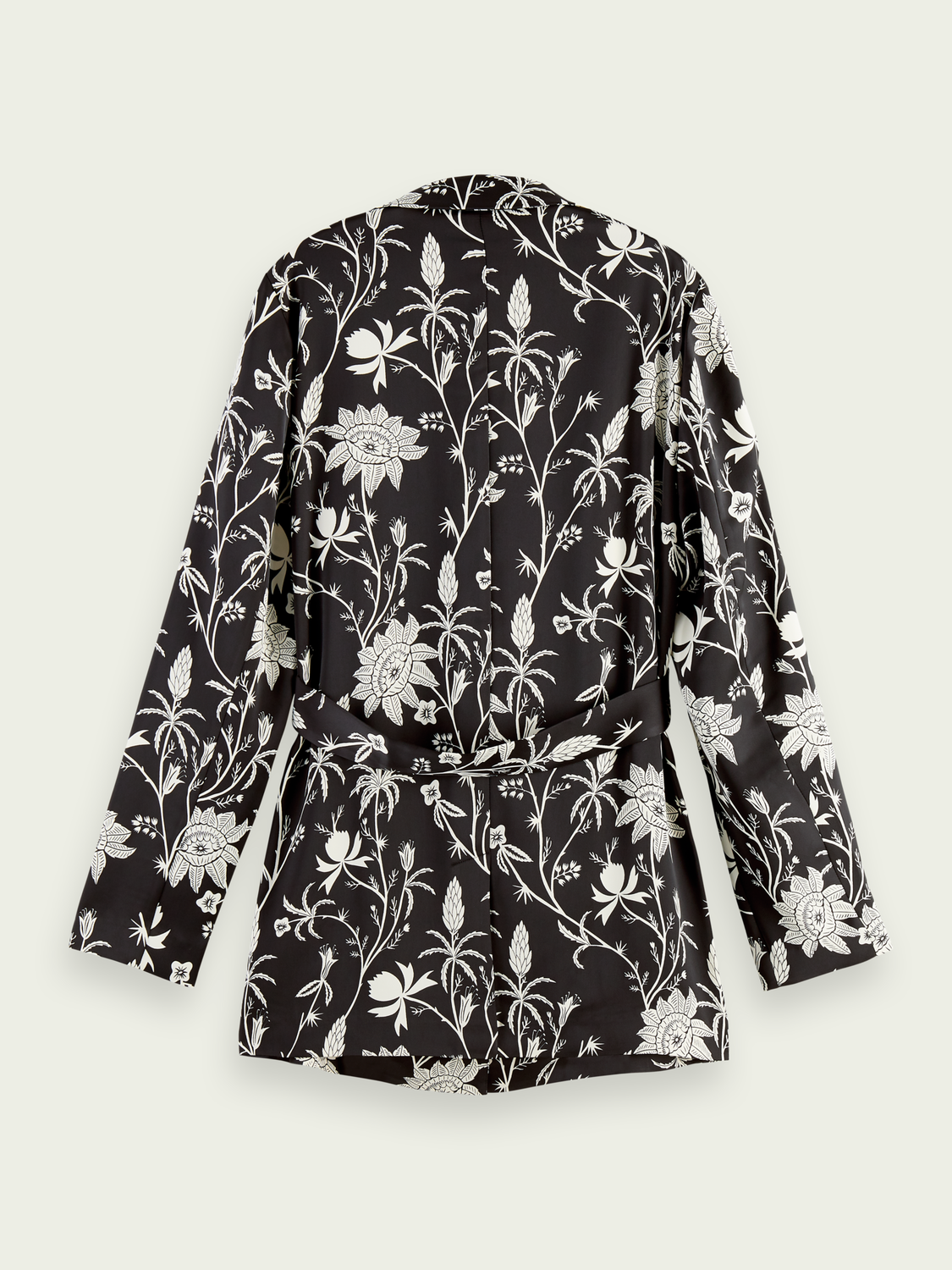 Women Printed relaxed blazer