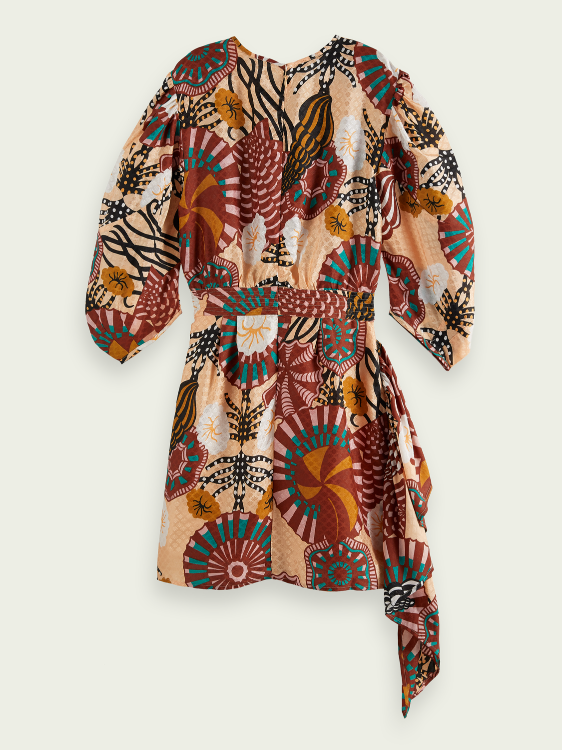 Women Printed jacquard dress
