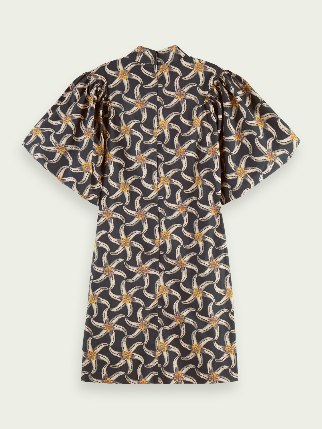 Women Printed organic cotton mini dress