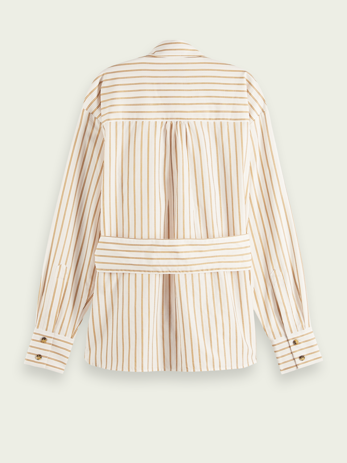 Women Striped cotton-blend shirt