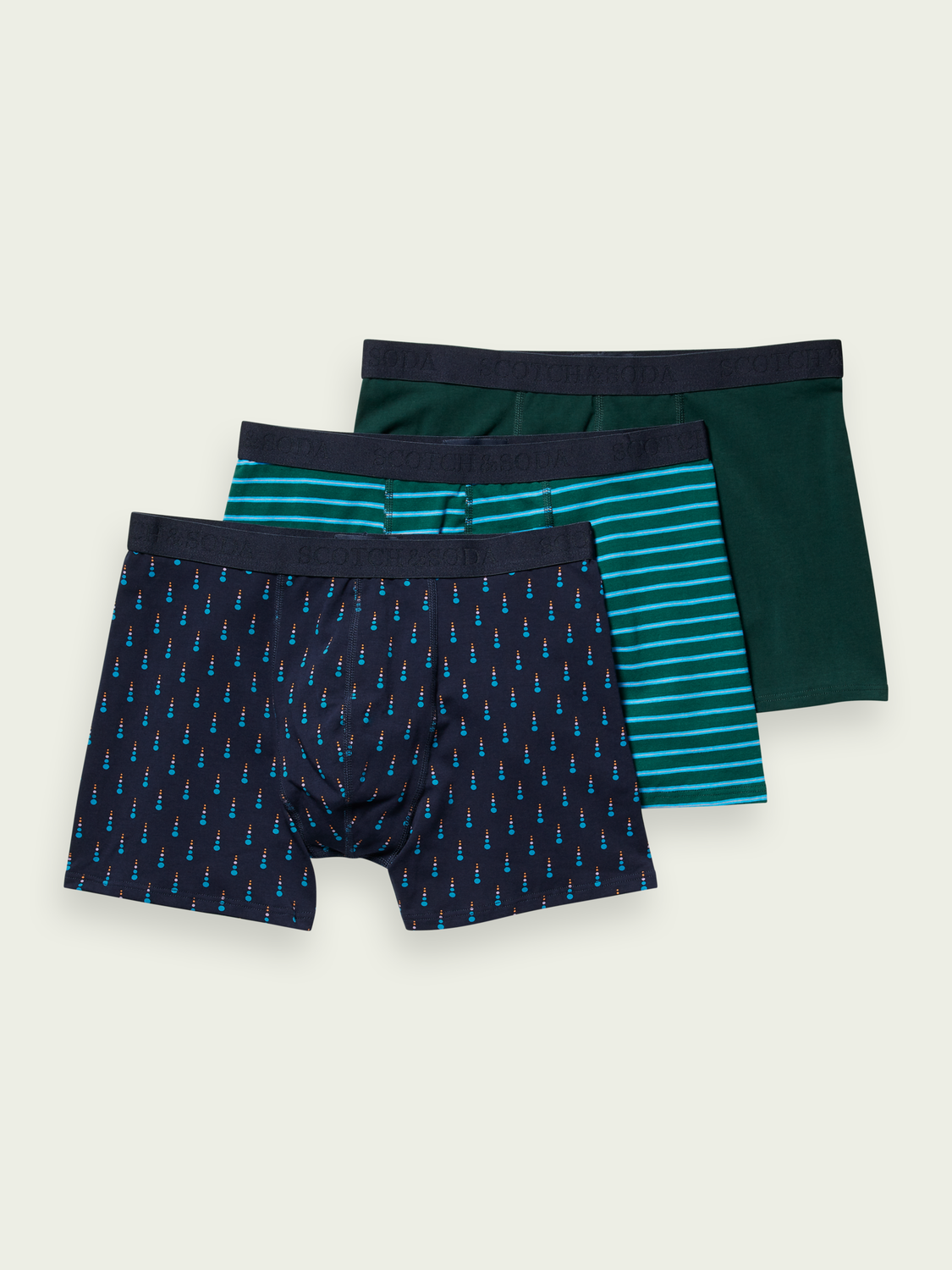 Men 3-pack classic boxer short