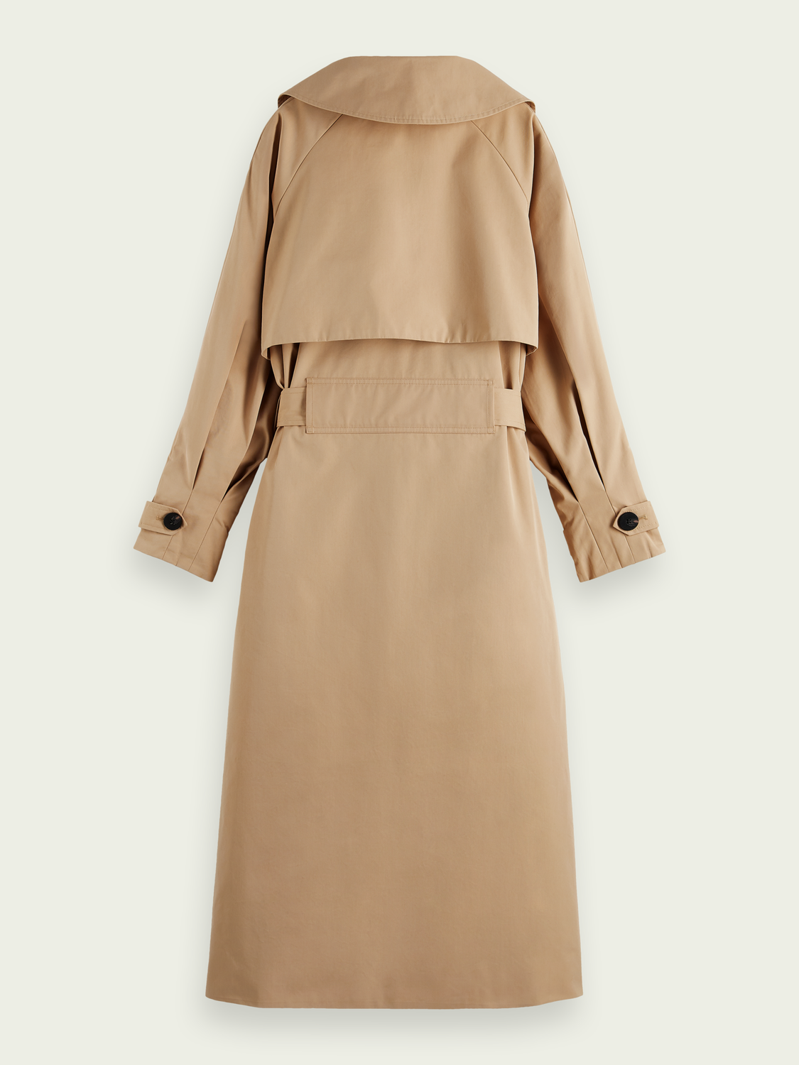 Damen Oversized Trenchcoat