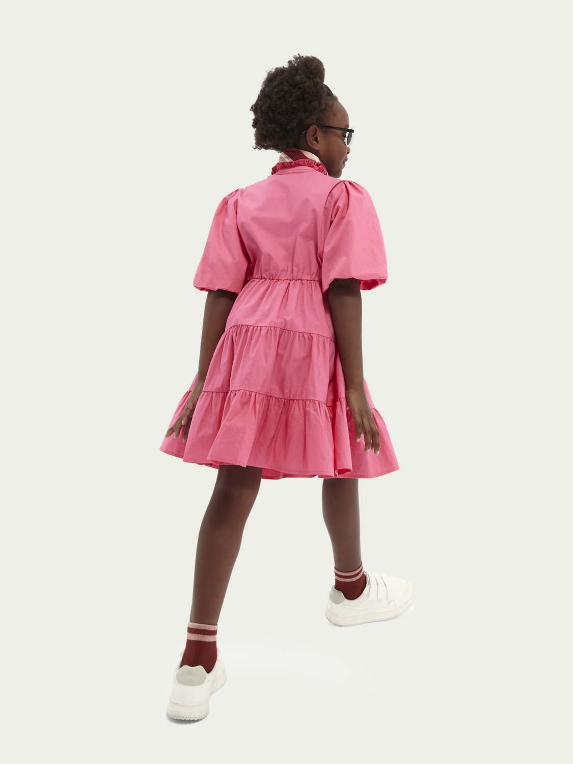 Kids A-line organic cotton dress
