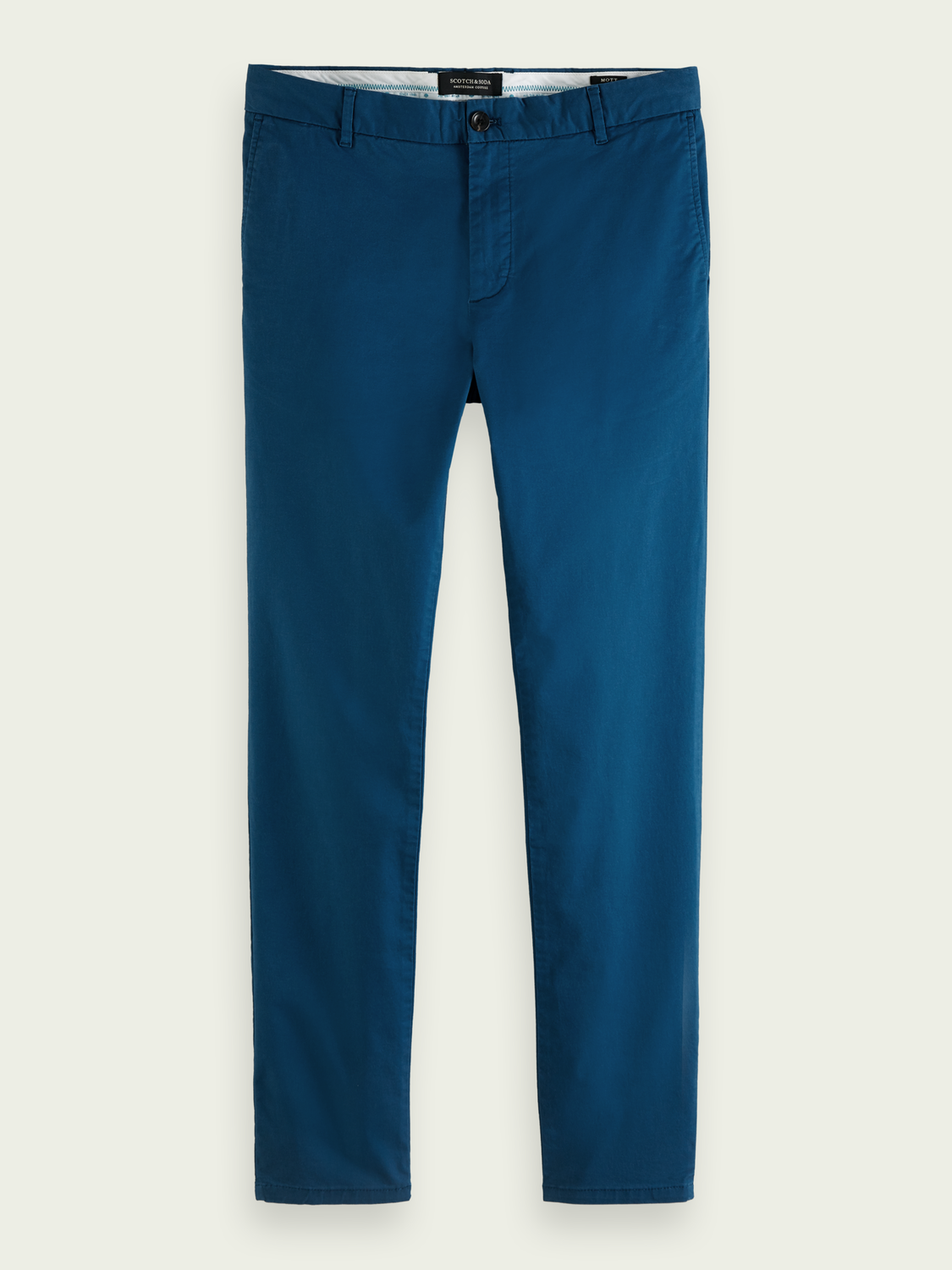 Men Mott super slim-fit organic cotton chino