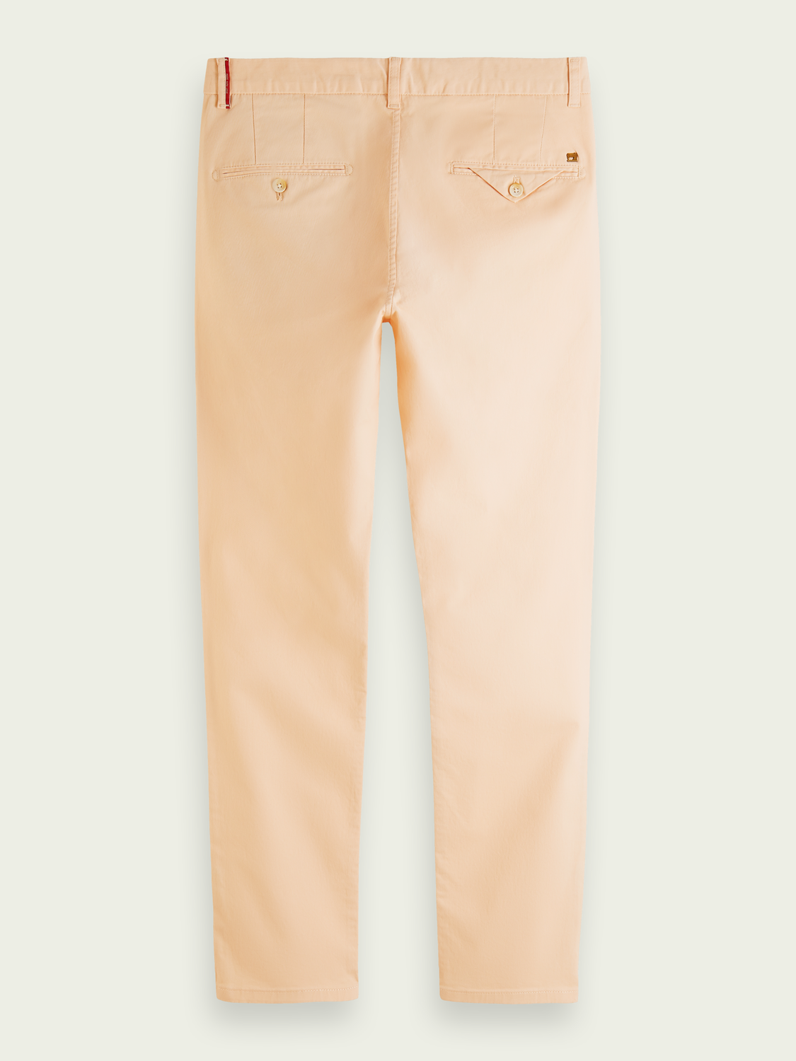 Men Mott super-slim fit twill chino