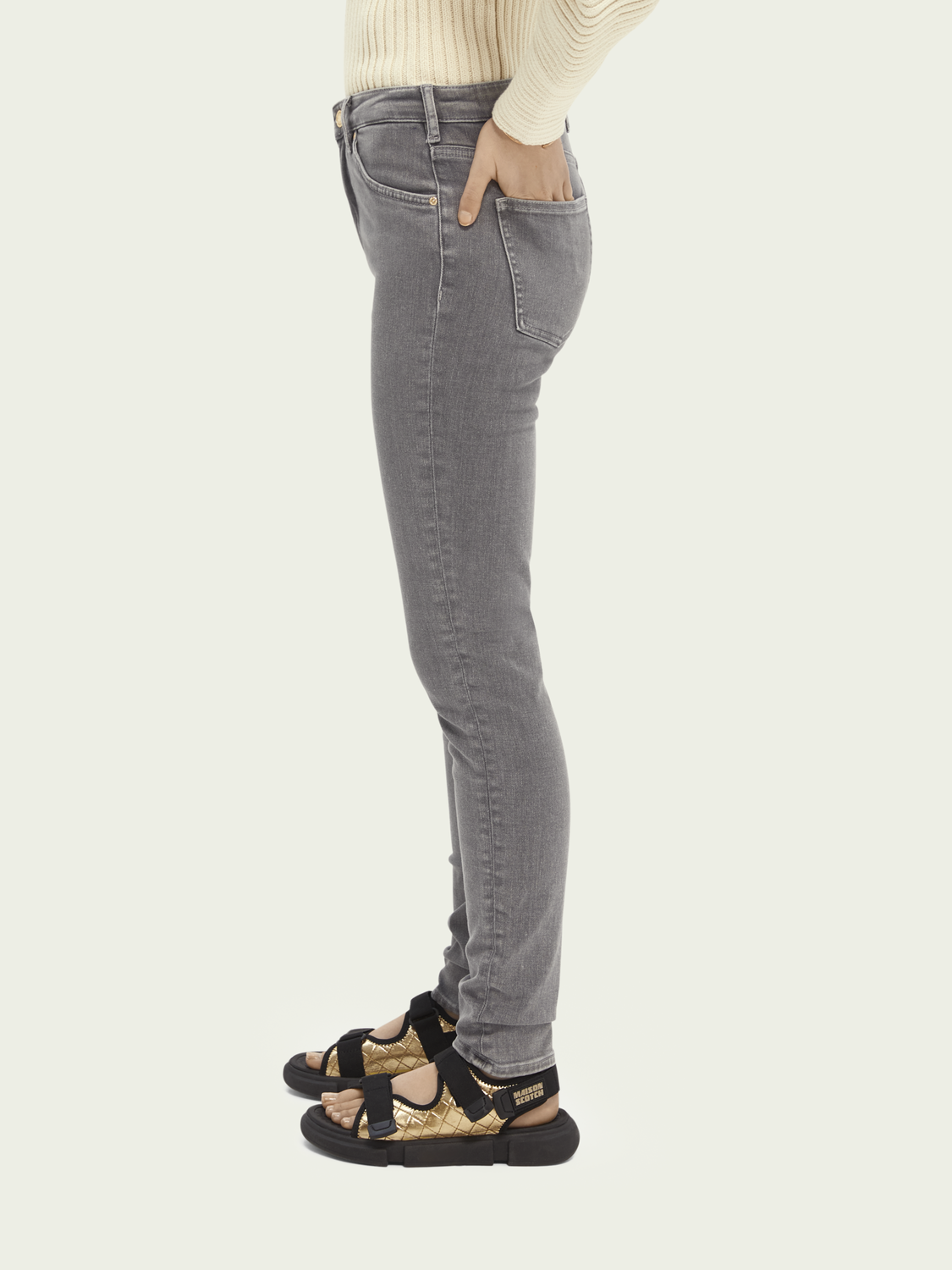 Dames Haut high-rise skinny jeans – Back To My Roots