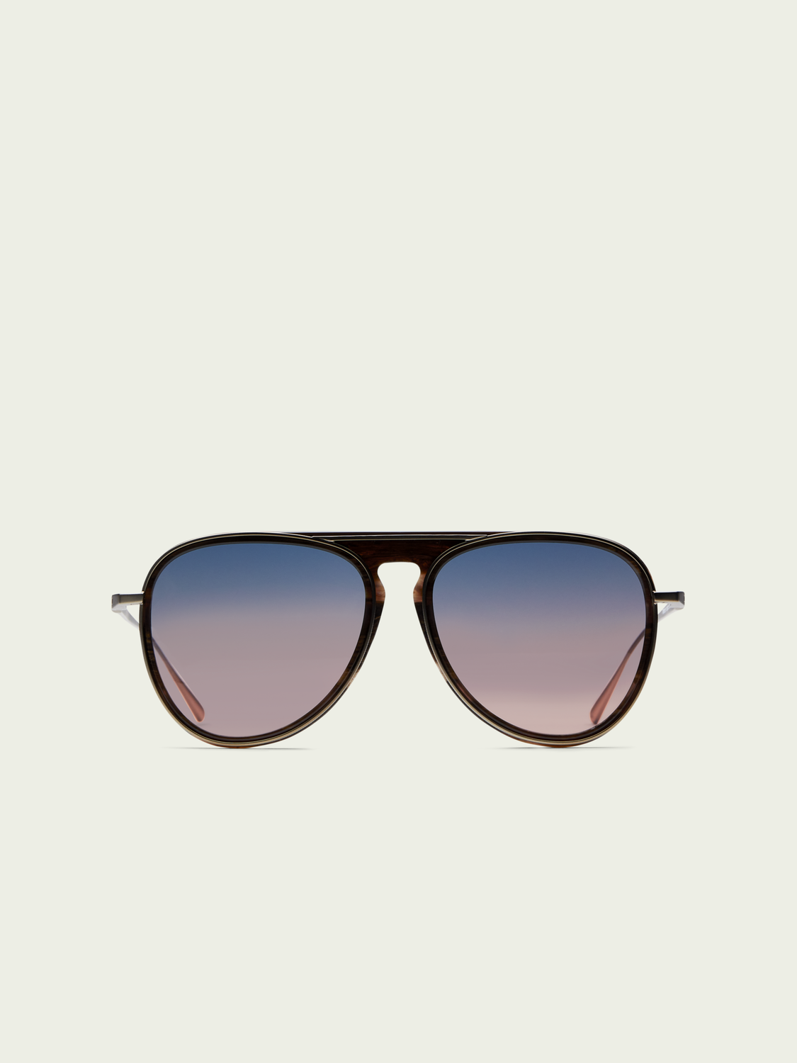 Men Castro - oversized aviator sunglasses